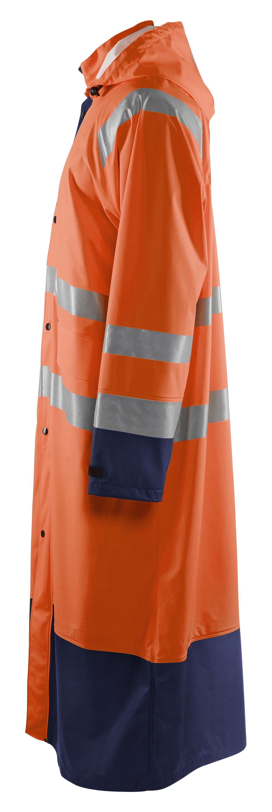 Blaklader Regenjassen 43252000 High Vis oranje-marineblauw(5389)