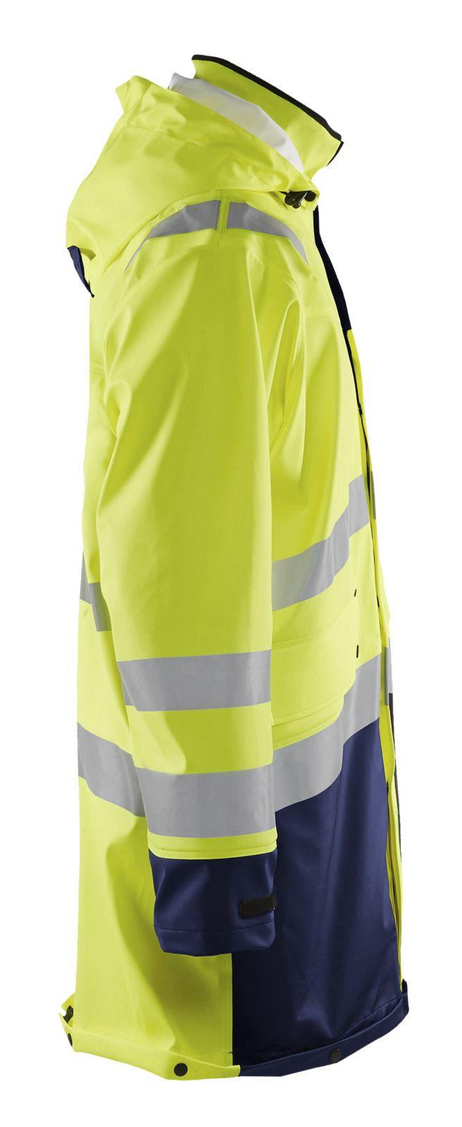 Blaklader Regenjassen 43262005 High Vis geel-marineblauw(3389)