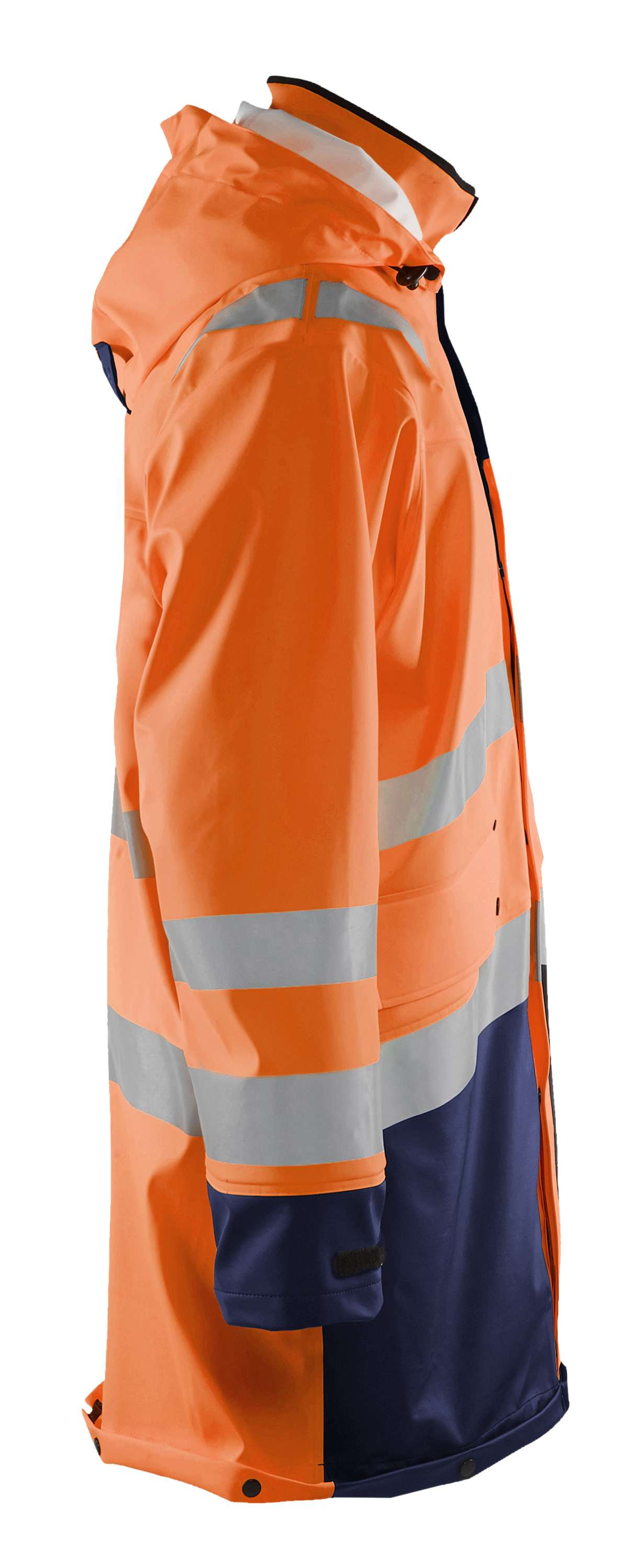 Blaklader Regenjassen 43262005 High Vis oranje-marineblauw(5389)