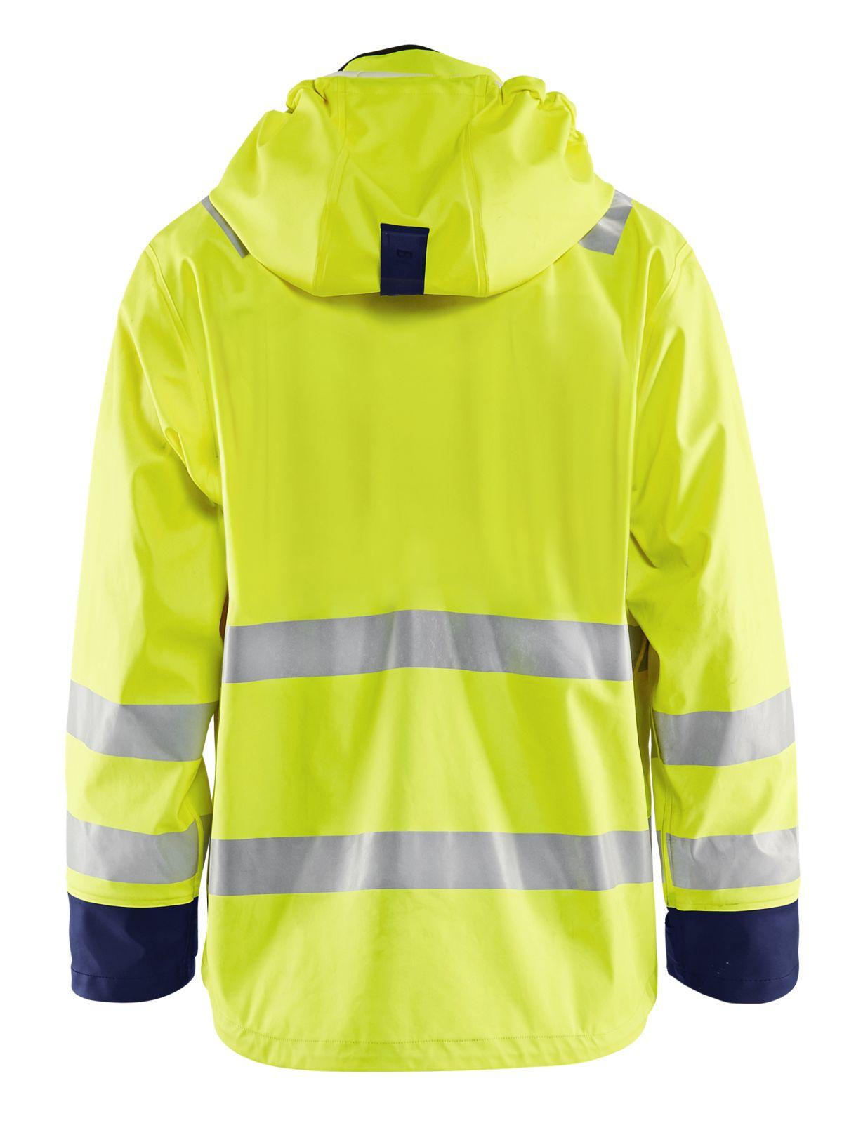 Blaklader Jassen 43272005 High Vis fluo geel-marineblauw(3389)