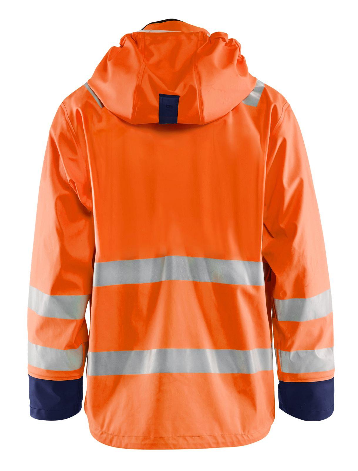 Blaklader Jassen 43272005 High Vis fluo oranje-marineblauw(5389)