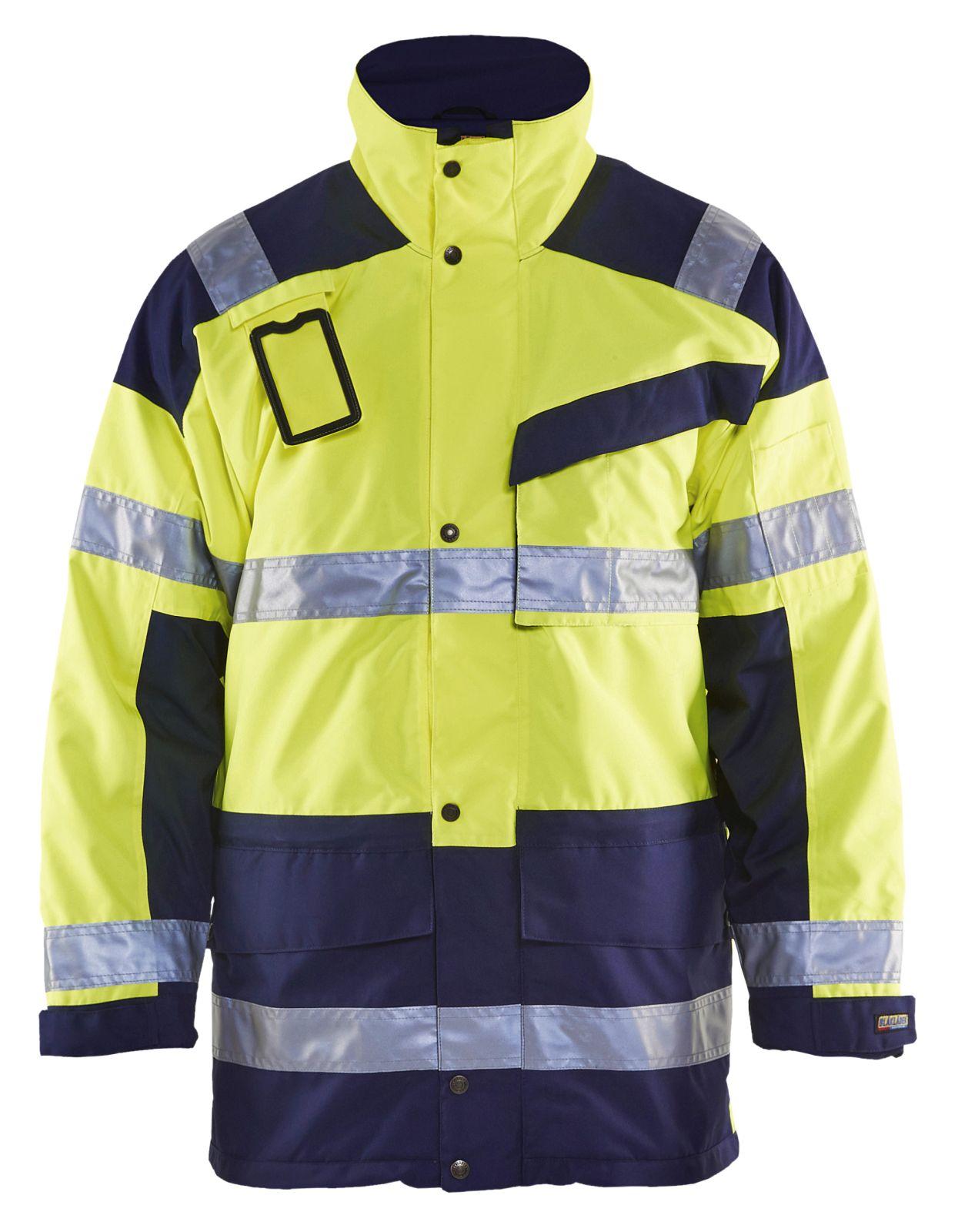 Blaklader Winterjassen 44261997 High Vis geel-marineblauw(3389)