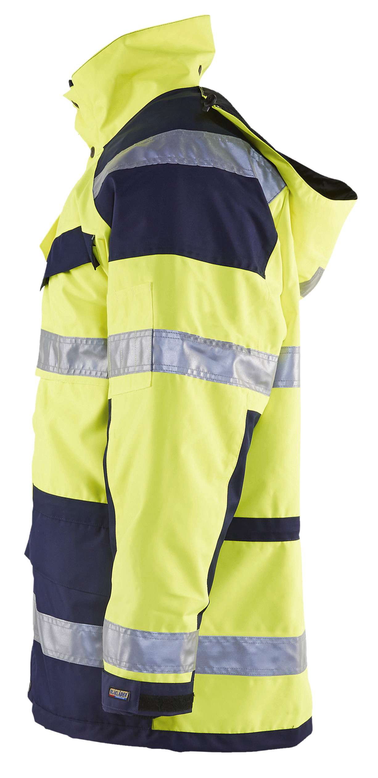 Blaklader Jassen 44261997 High Vis geel-marineblauw(3389)