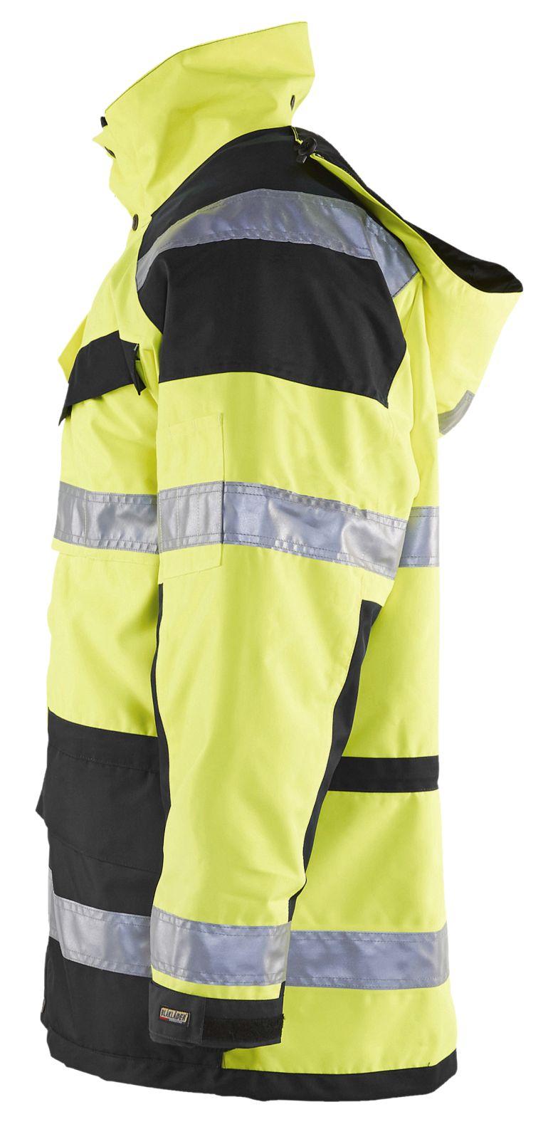 Blaklader Jassen 44261997 High Vis geel-zwart(3399)