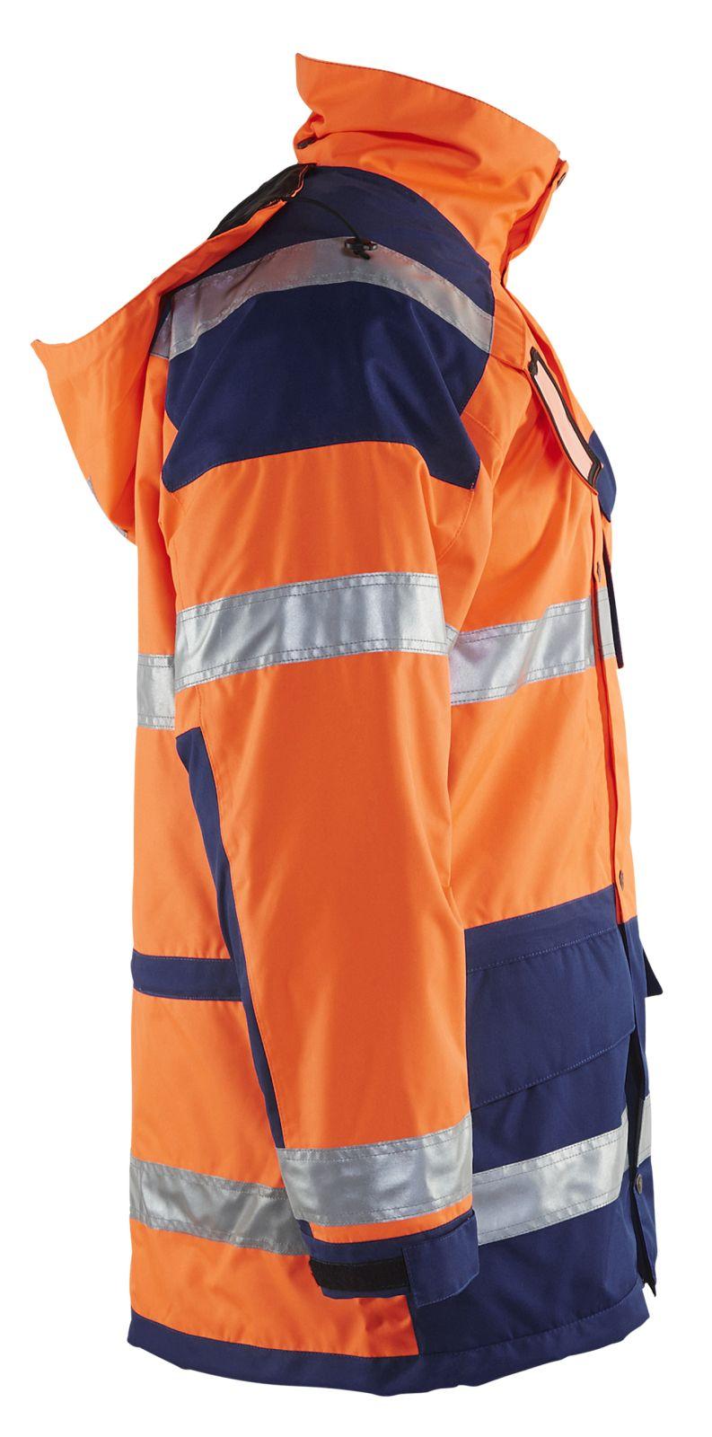 Blaklader Jassen 44261997 High Vis oranje-marineblauw(5389)
