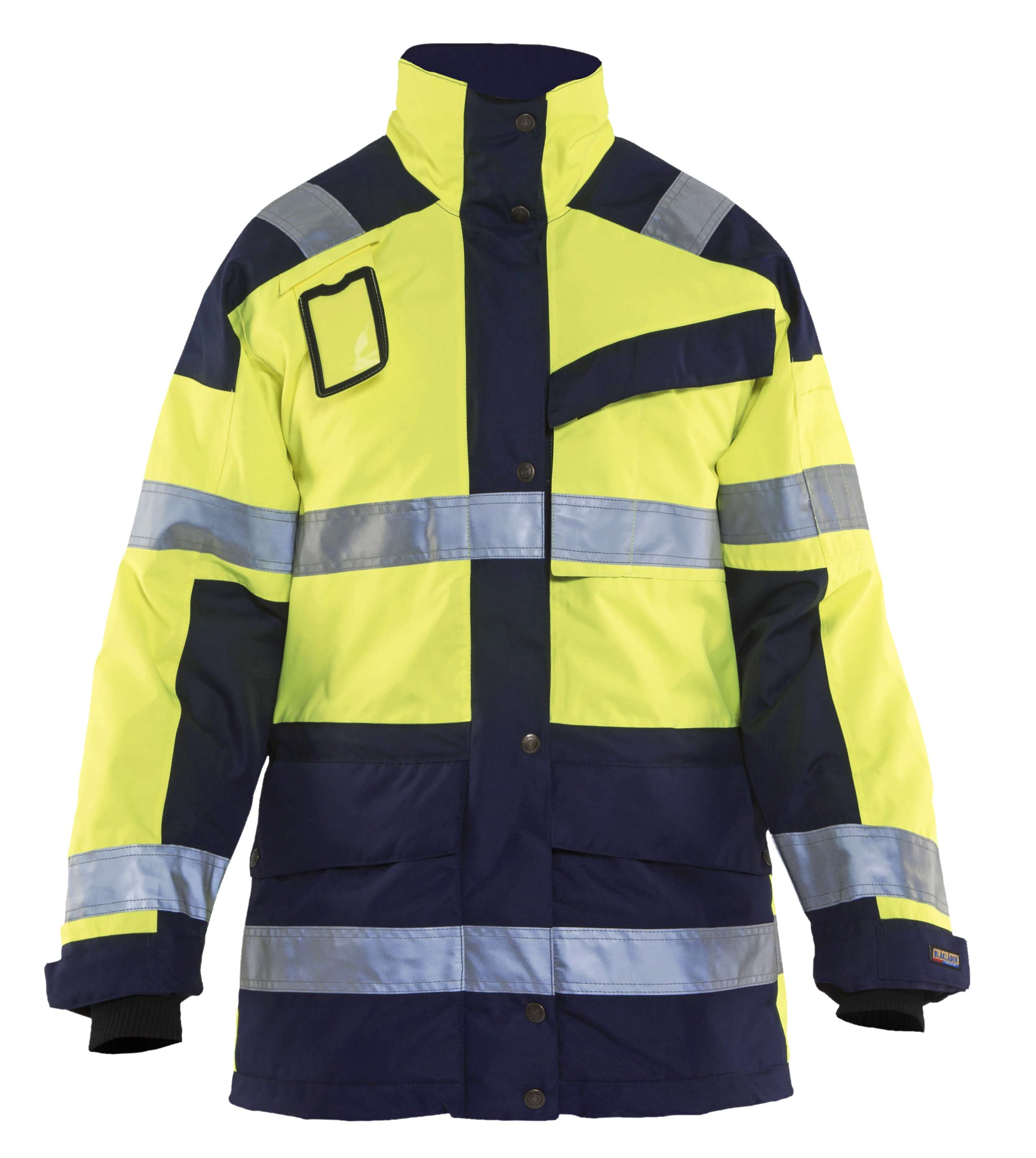 Blaklader Dames winterjassen 44271997 High Vis geel-marineblauw(3389)