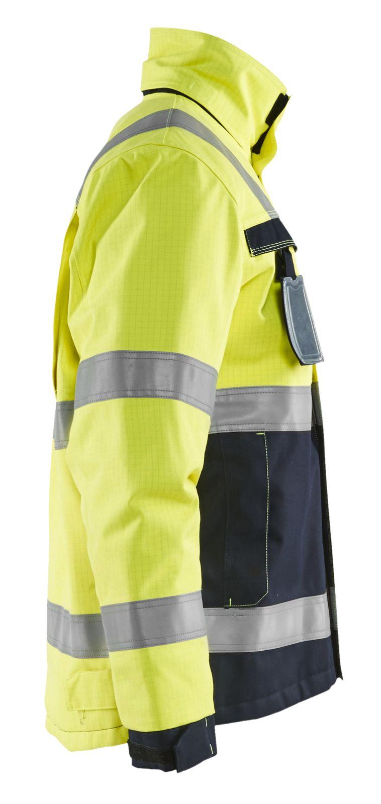 Blaklader Jassen 44681530 Multinorm geel-marineblauw(3389)
