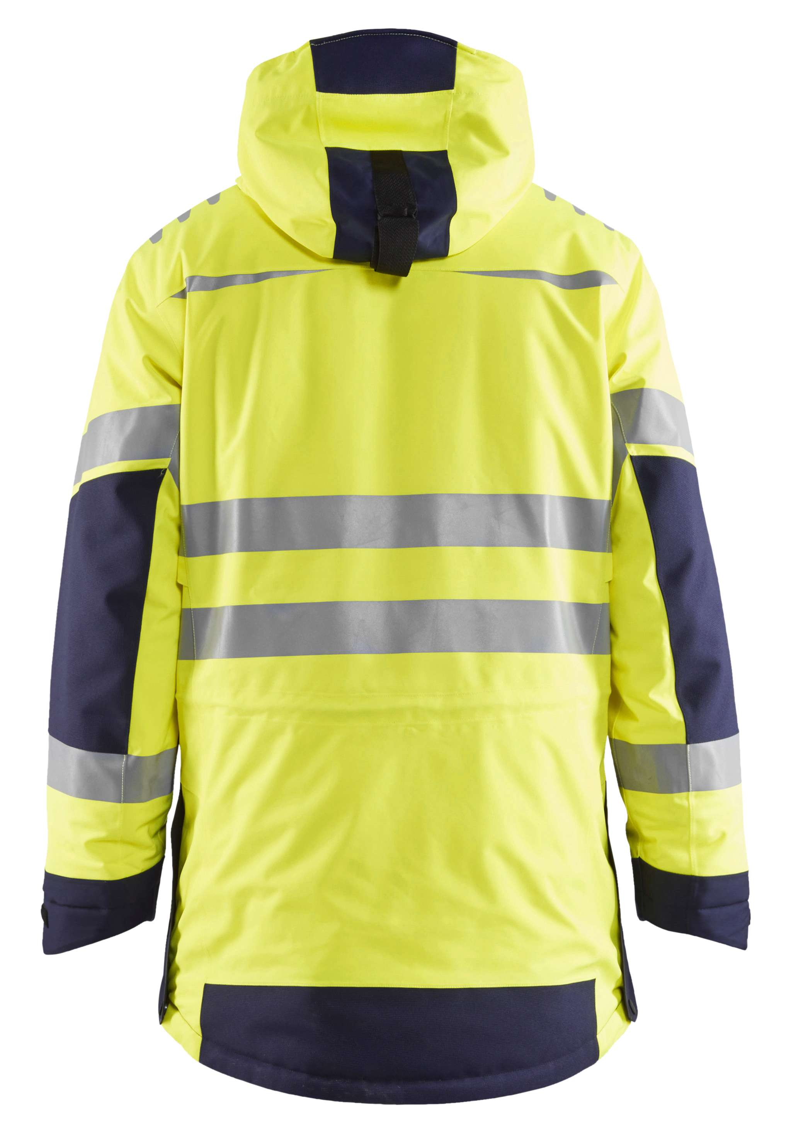 Blaklader Jassen 44691921 High Vis fluo geel-marineblauw(3389)