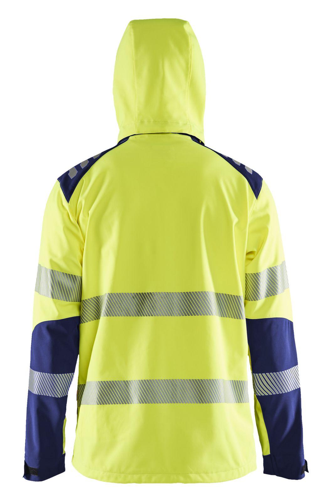 Blaklader Jassen 44912513 High Vis fluo geel-marineblauw(3389)