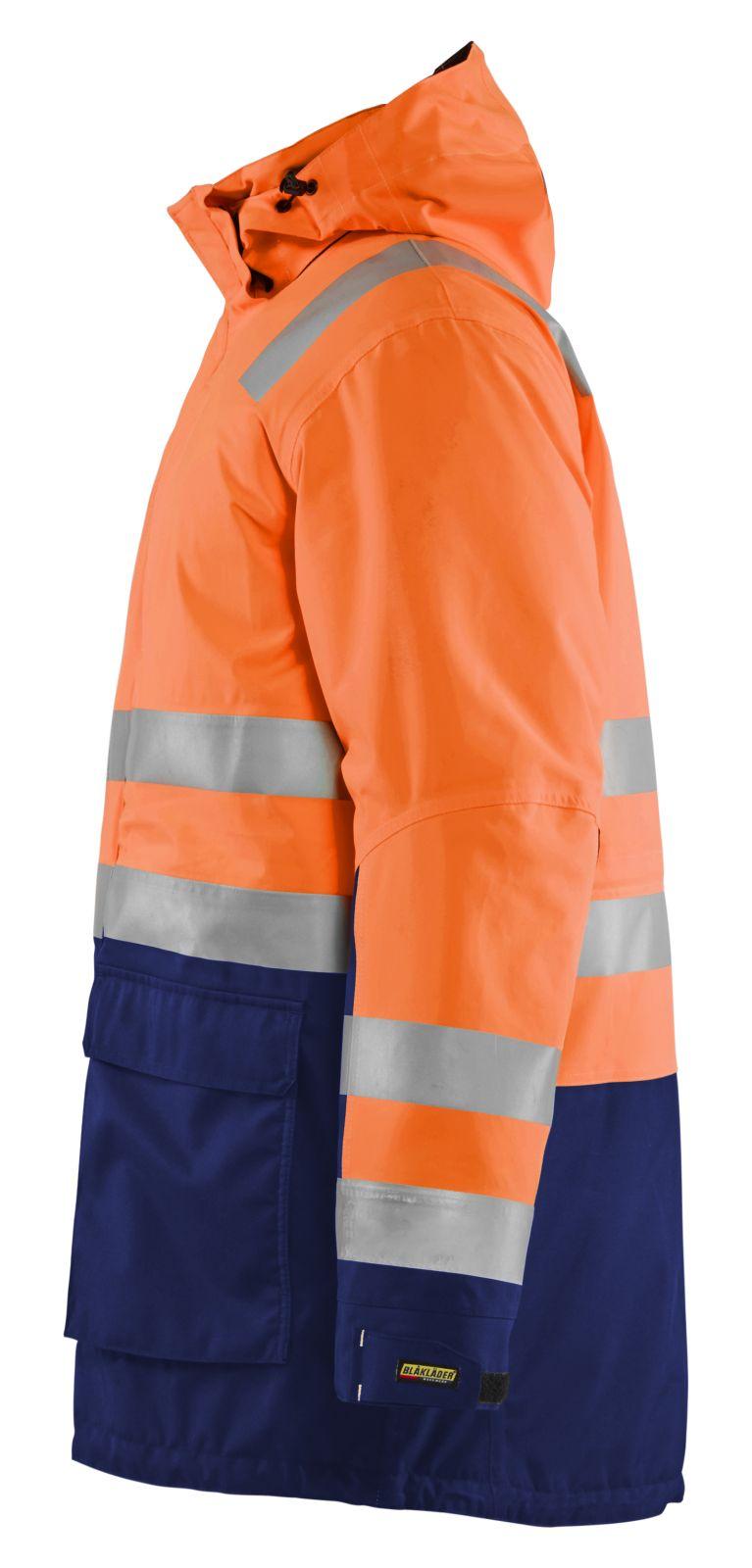 Blaklader Jassen 44951987 High Vis fluo oranje-marineblauw(5389)