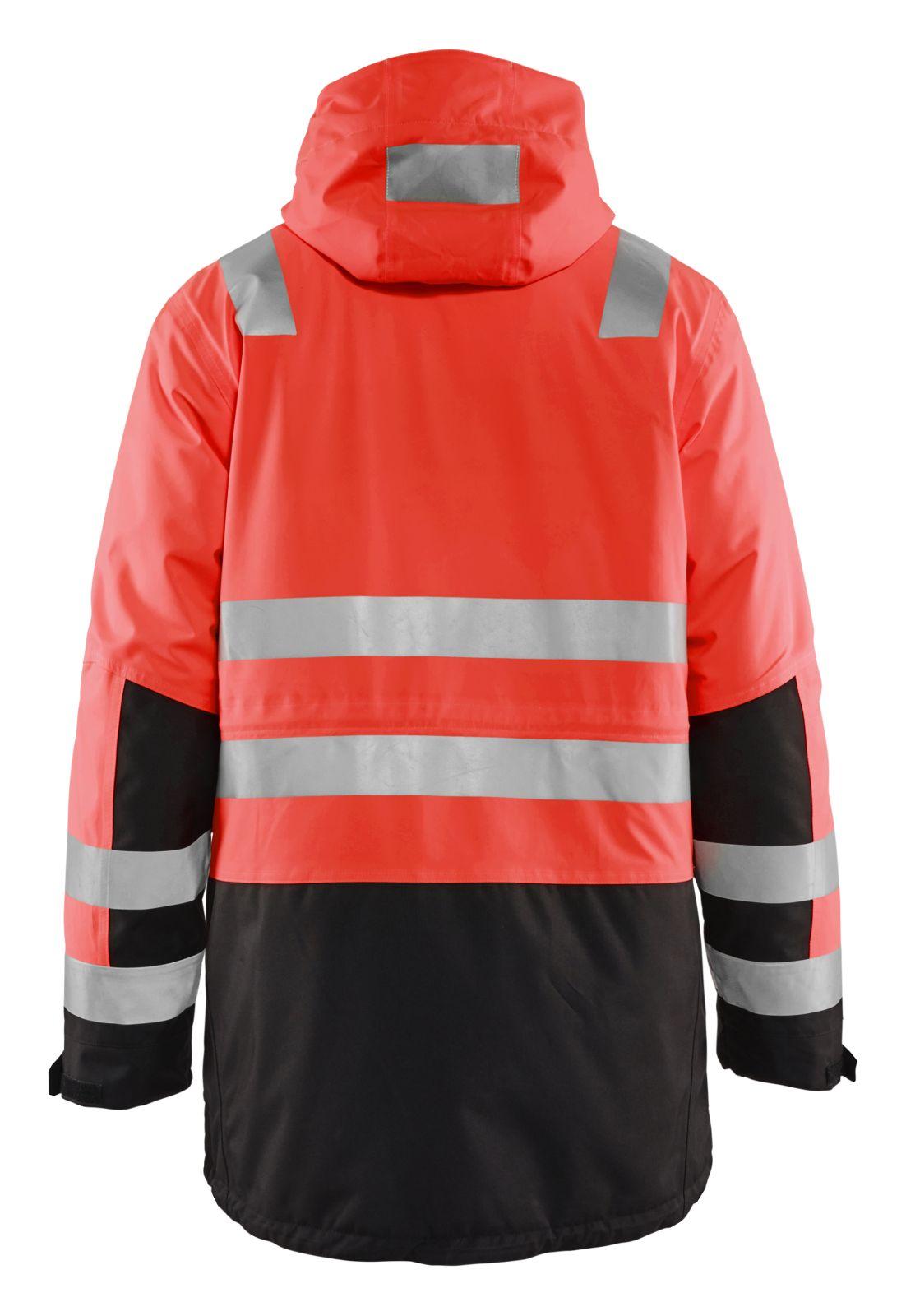 Blaklader Jassen 44951987 High Vis fluo rood-zwart(5599)