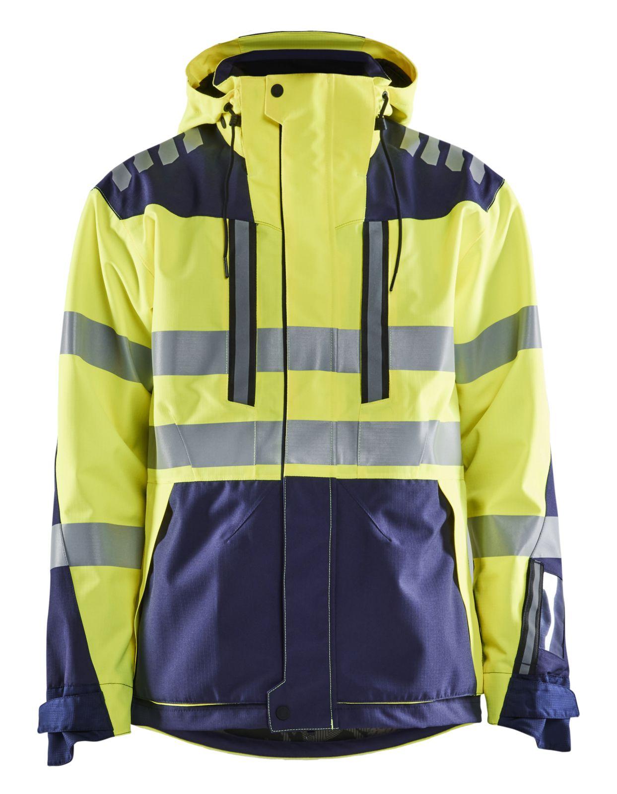 Blaklader Jassen 44961918 fluo geel-marineblauw(3389)