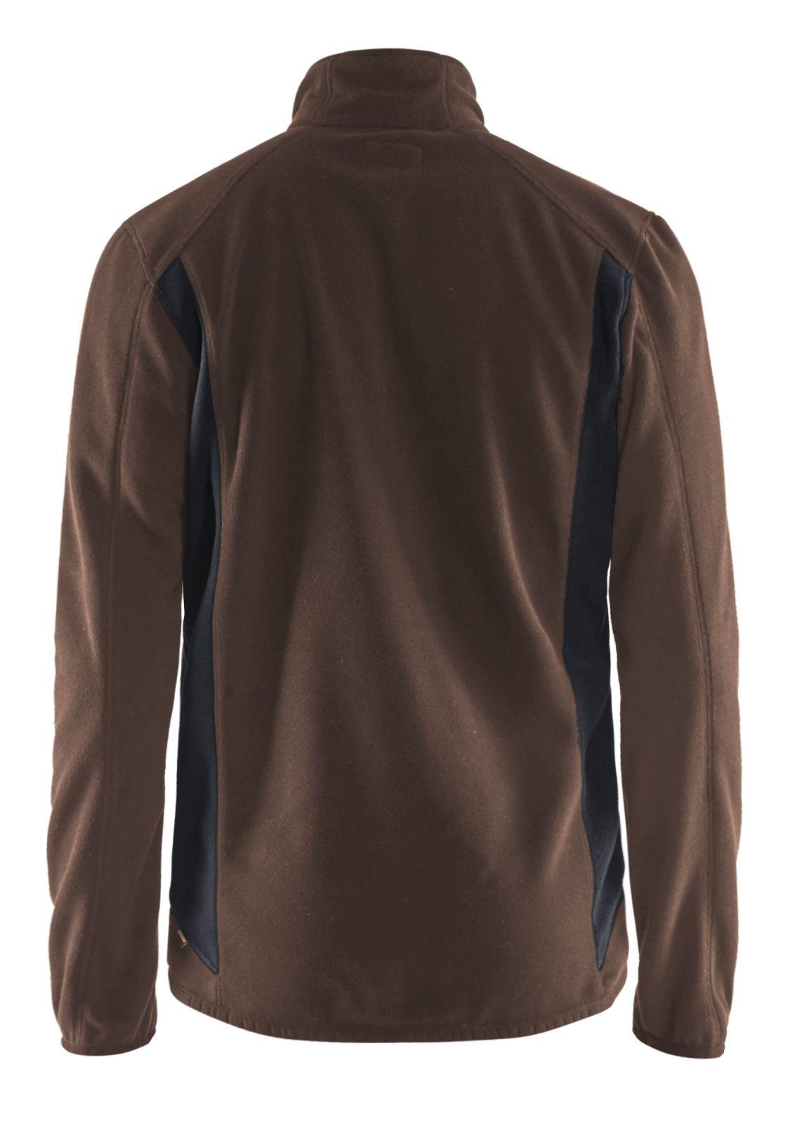 Blaklader Fleece vesten 47302510 bruin-zwart(7899)