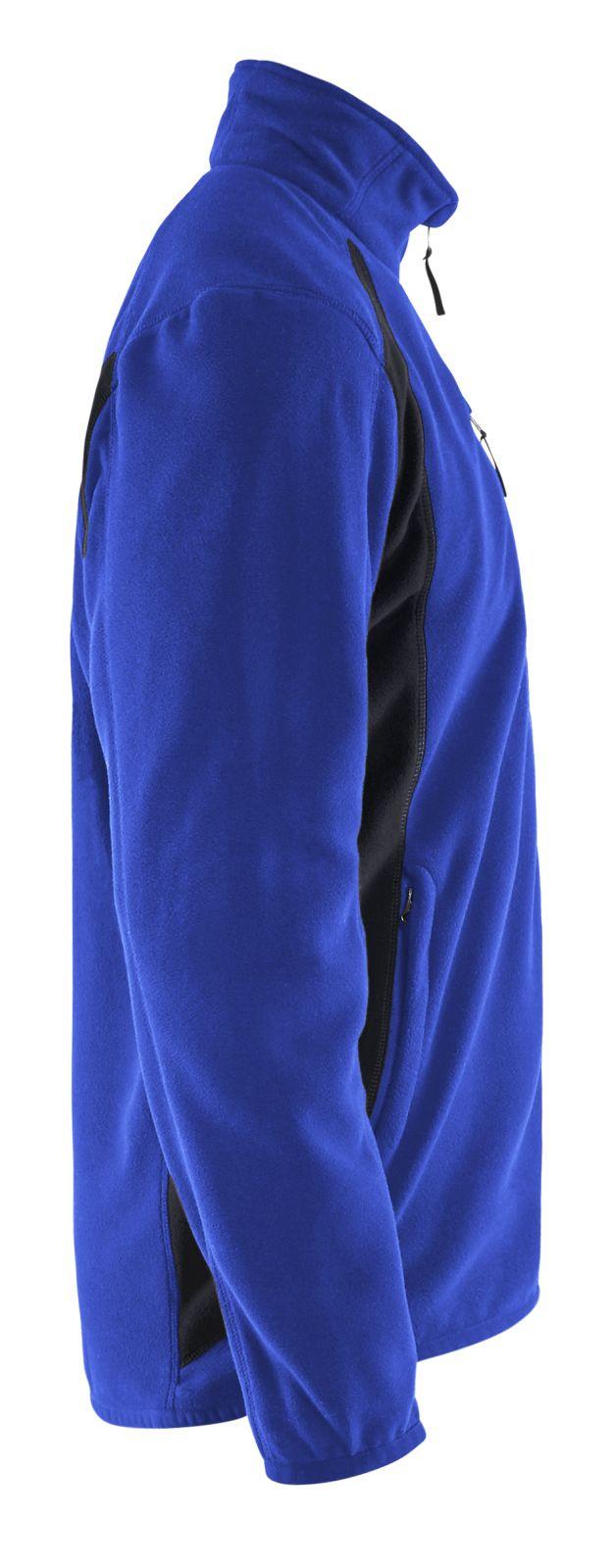 Blaklader Fleece vesten 47302510 korenblauw-zwart(8599)