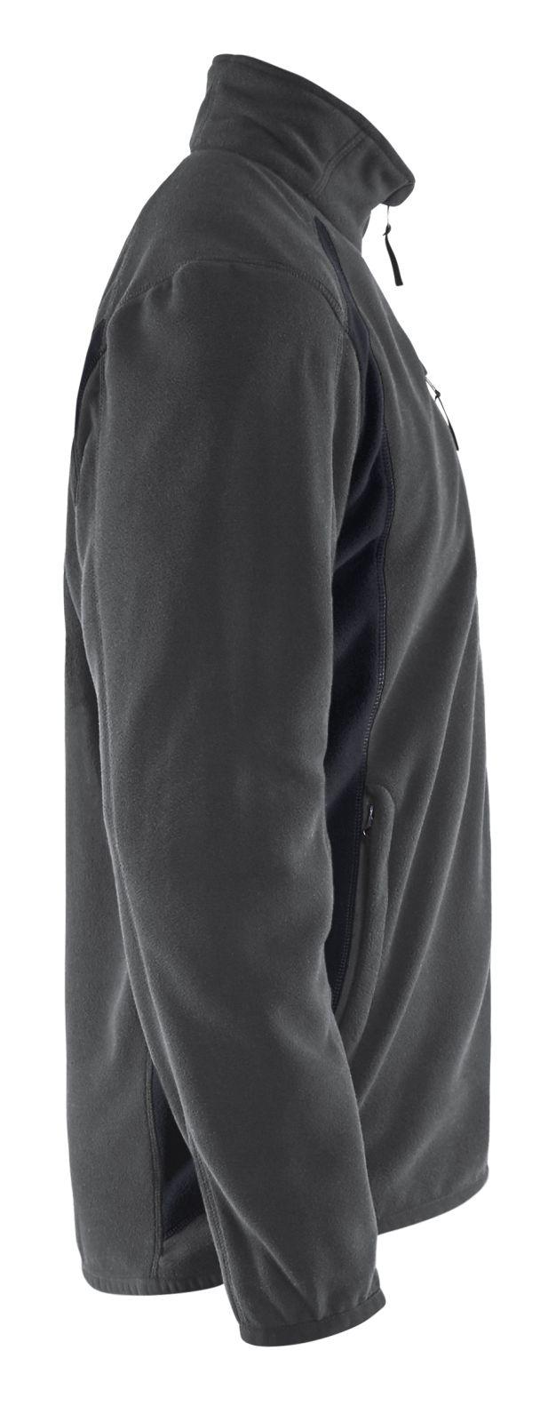 Blaklader Fleece vesten 47302510 donkergrijs-zwart(9899)
