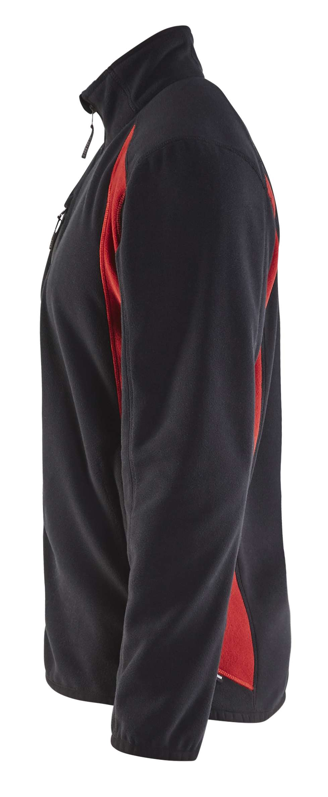 Blaklader Fleece vesten 47302510 zwart-rood(9956)