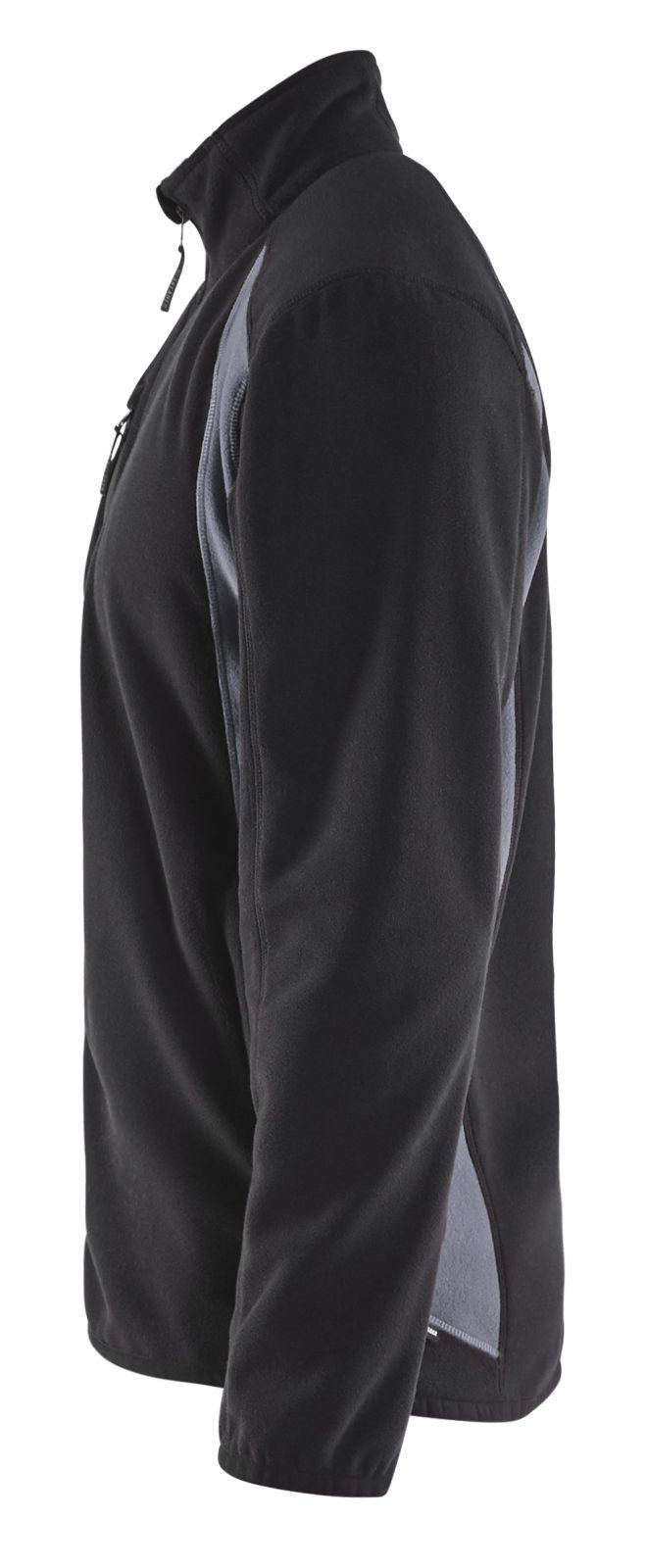 Blaklader Fleece vesten 47302510 zwart-grijs(9994)