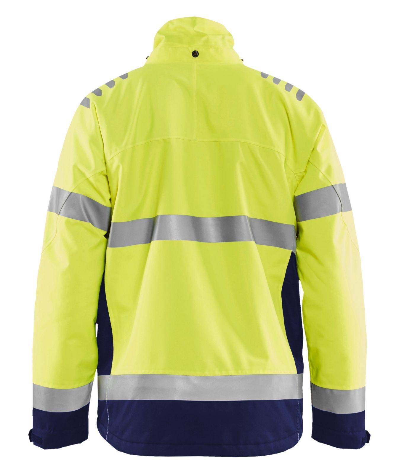 Blaklader Jassen 47801977 High Vis fluo geel-marineblauw(3389)