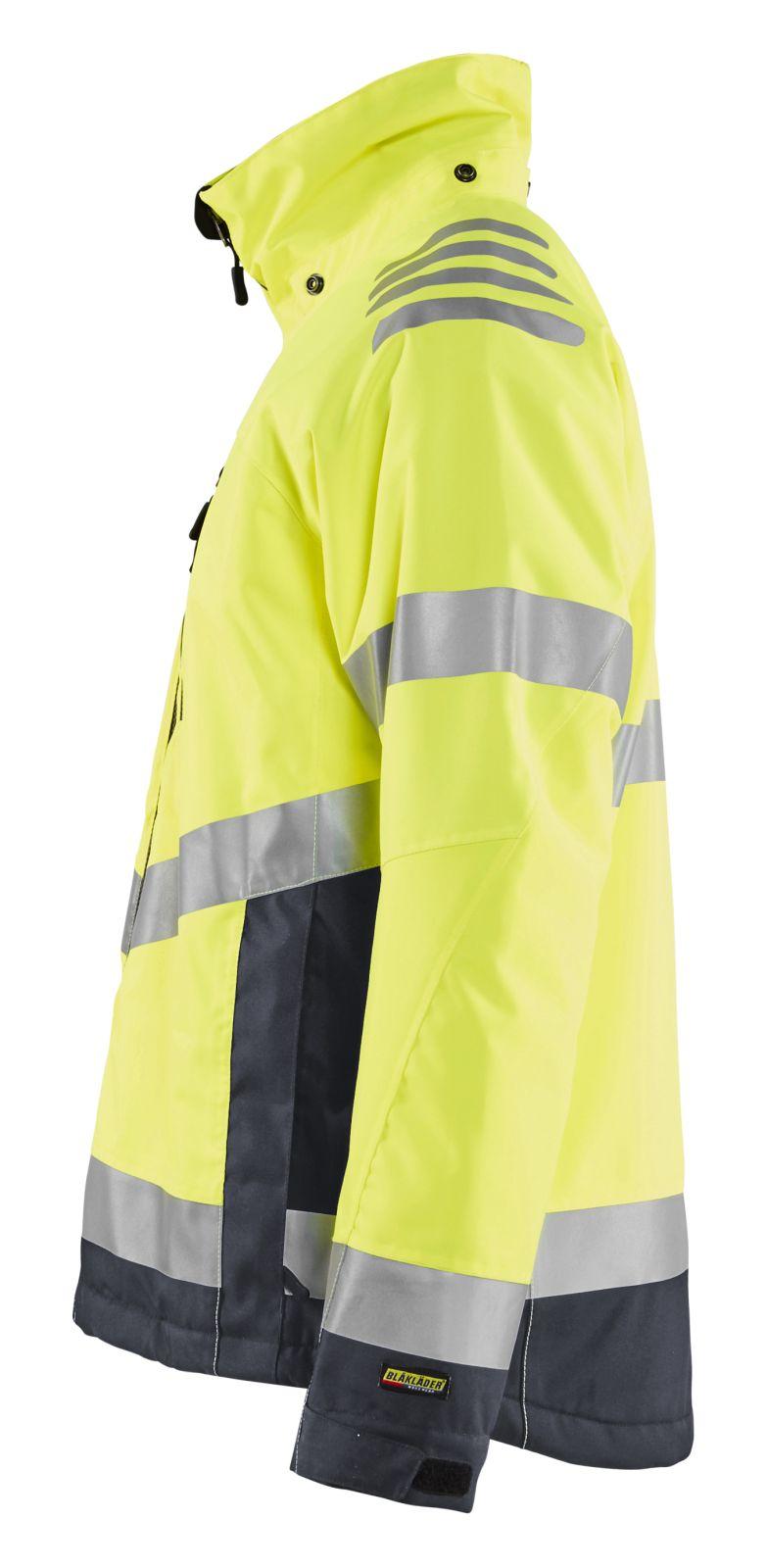 Blaklader Jassen 47801977 High Vis fluo geel-middelgrijs(3396)