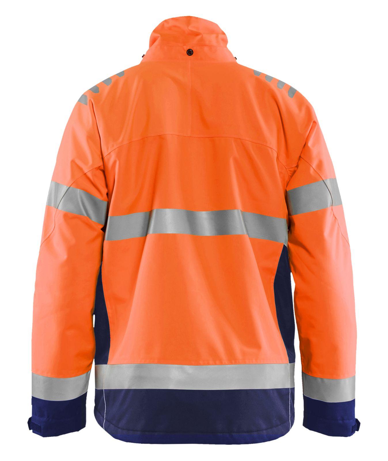 Blaklader Jassen 47801977 High Vis fluo oranje-marineblauw(5389)