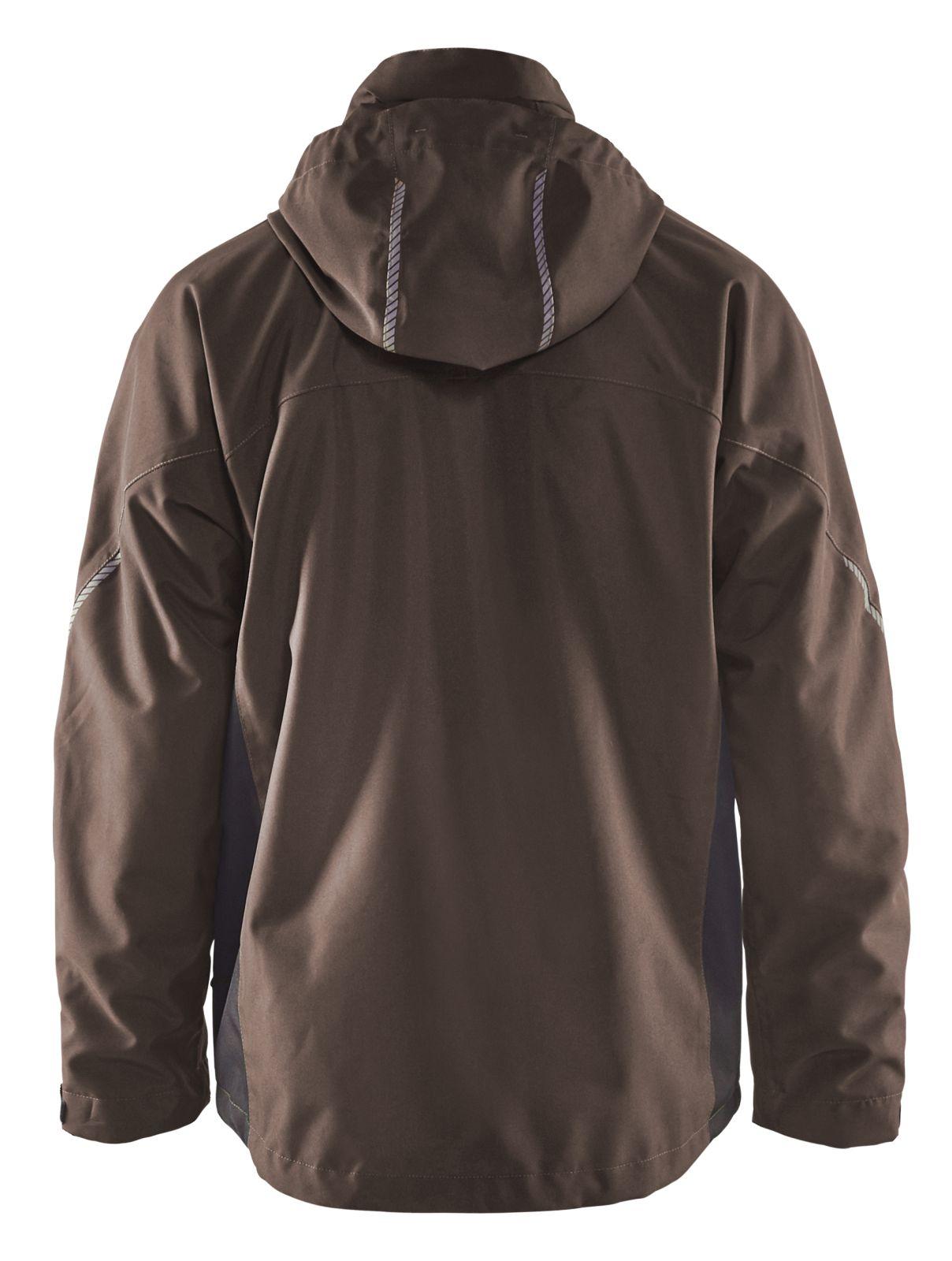 Blaklader Regenjacks 47901977 bruin-zwart(7899)