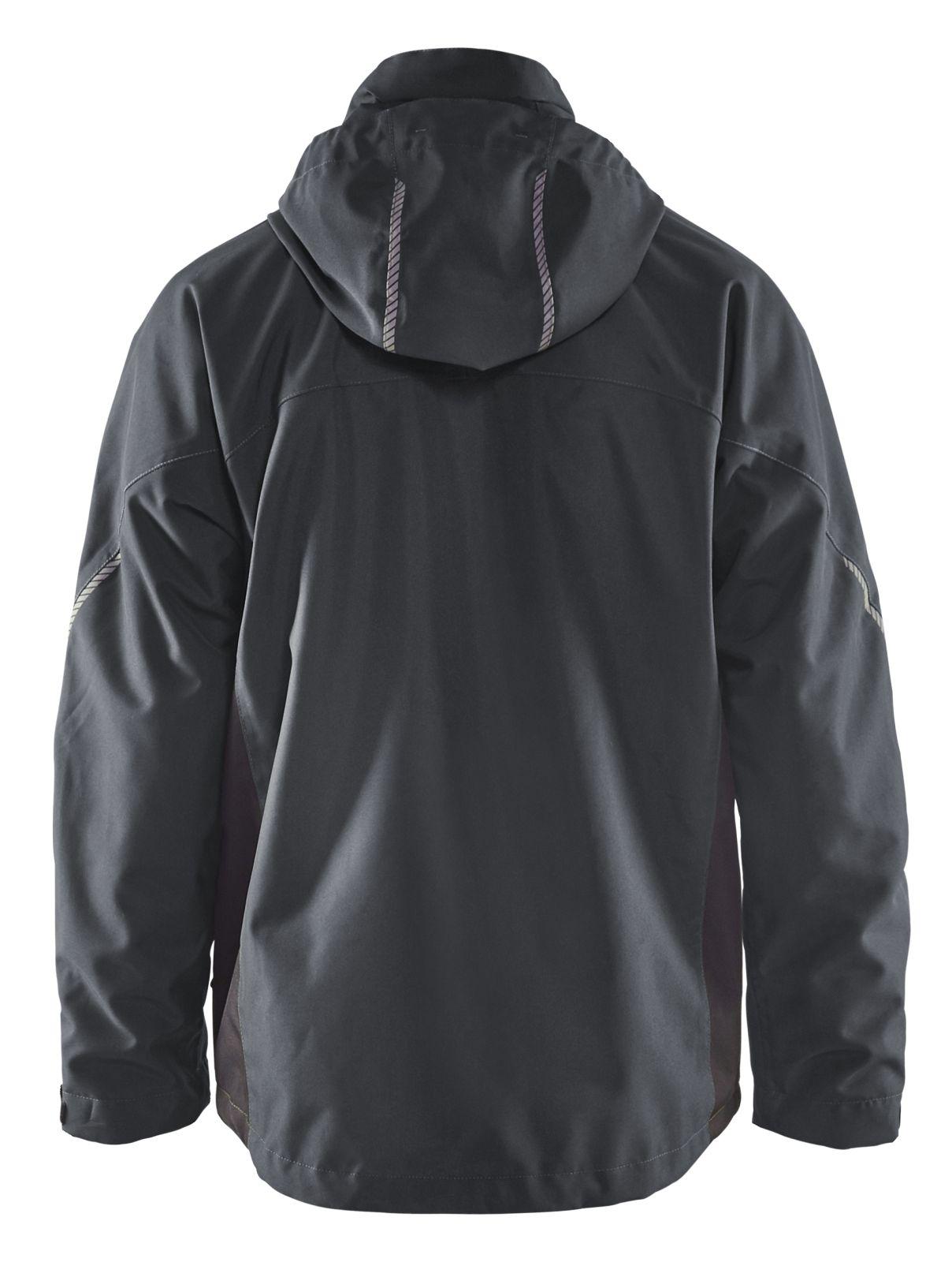 Blaklader Regenjacks 47901977 donkergrijs-zwart(9899)