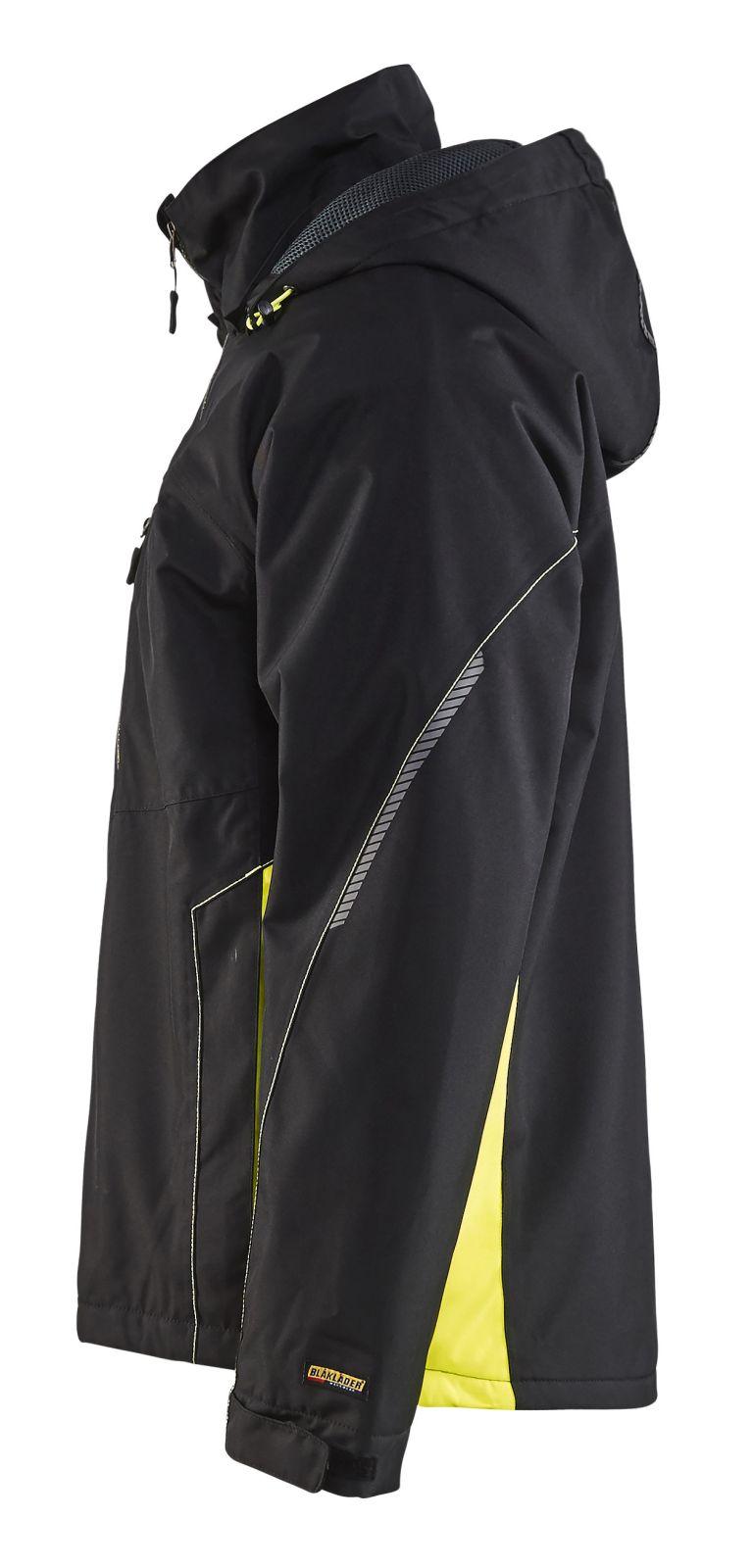 Blaklader Regenjacks 47901977 zwart-geel(9933)