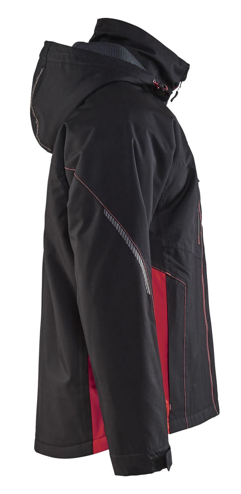 Blaklader Jassen 47901977 zwart-rood(9956)