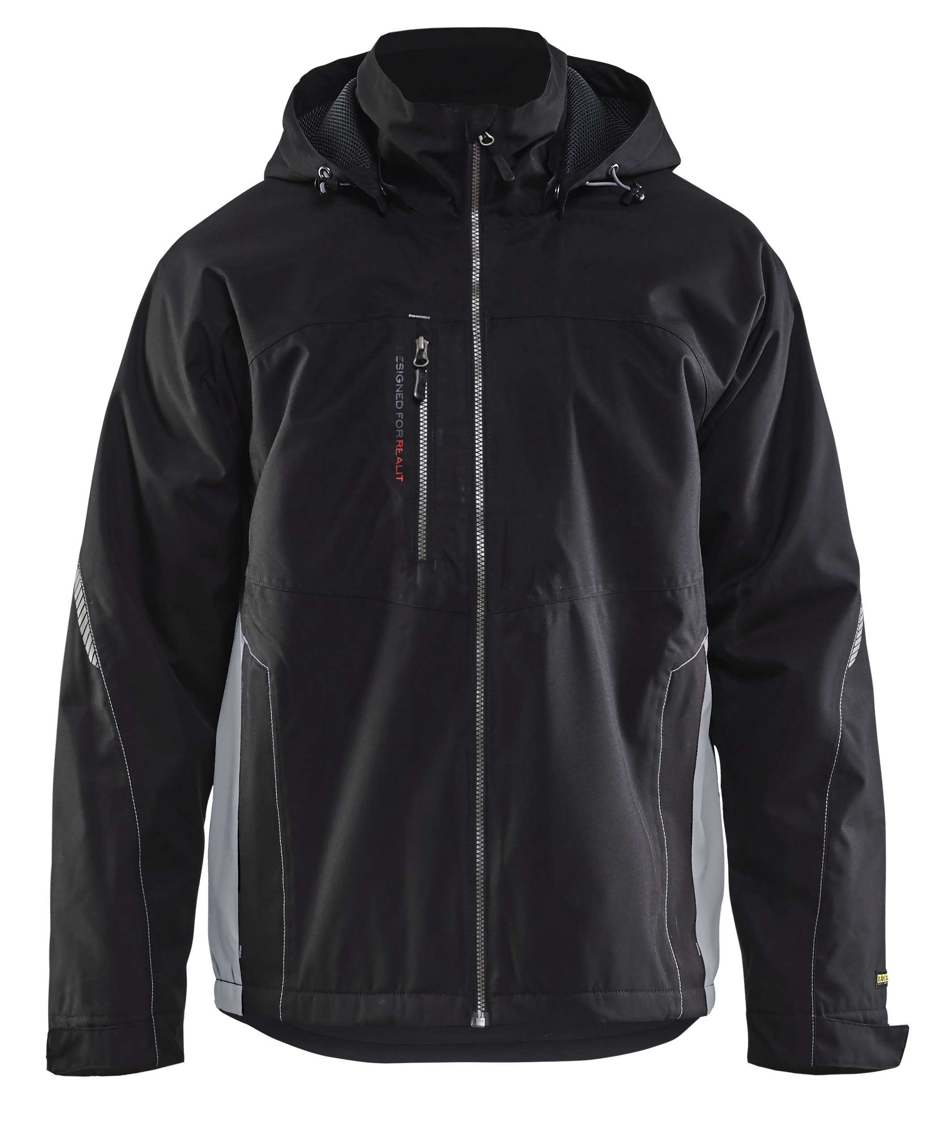 Blaklader Regenjacks 47901977 zwart-grijs(9994)
