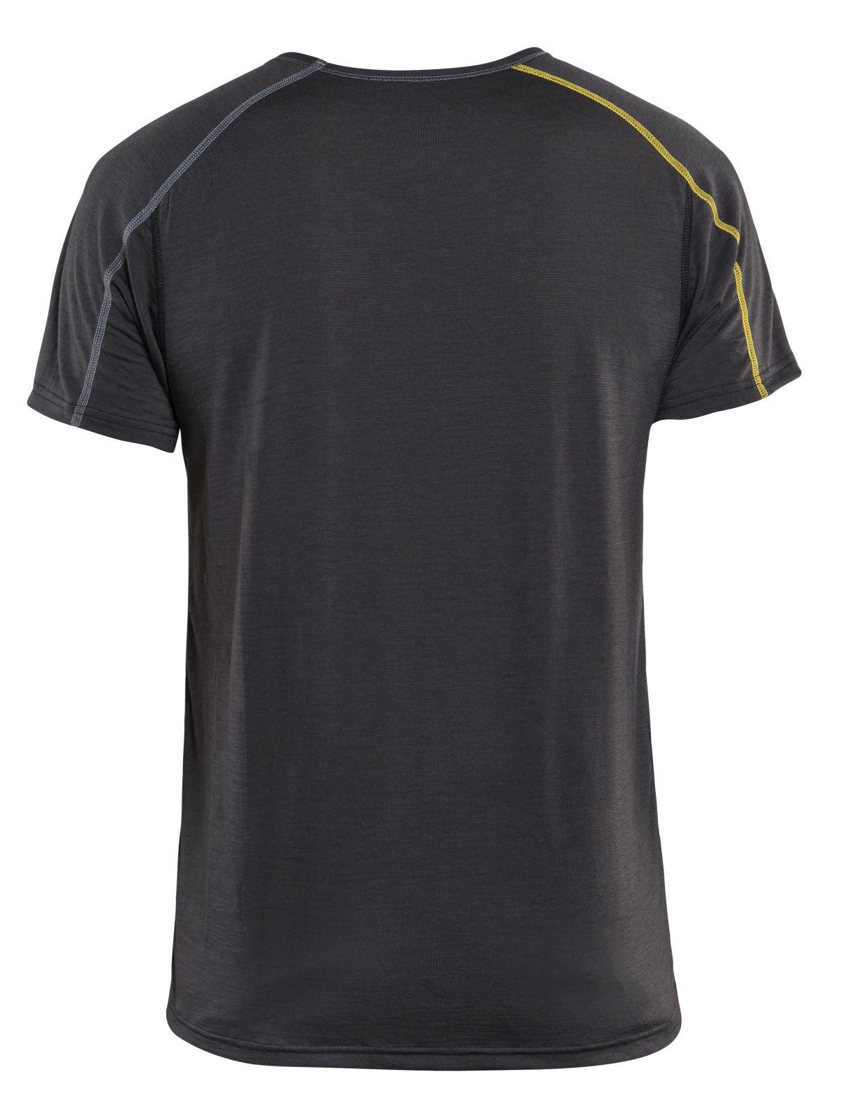 Blaklader Onderhemden 47981734 donkergrijs-geel(9835)