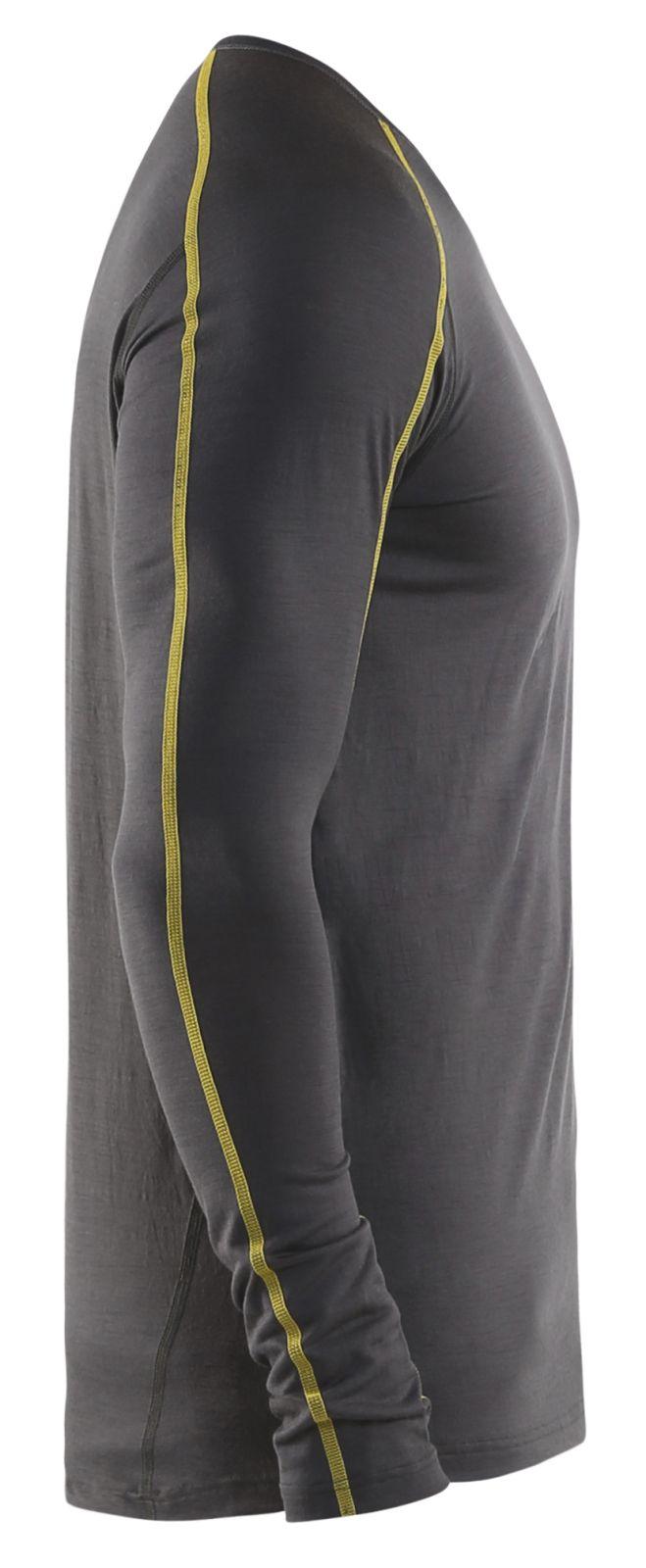 Blaklader Onderhemden 47991734 donkergrijs-geel(9835)