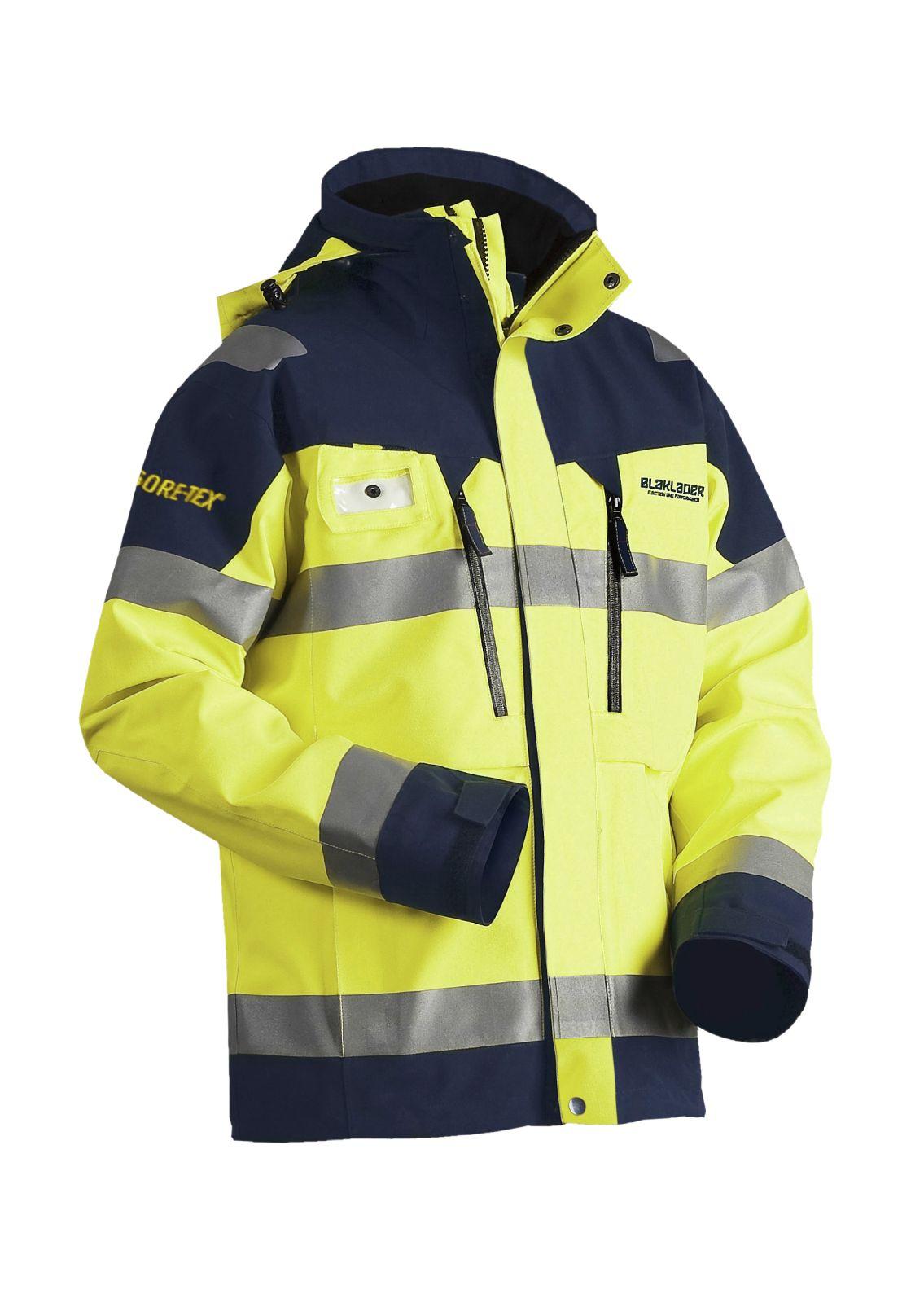 Blaklader Werkjacks 48081979 High Vis geel-marineblauw(3389)