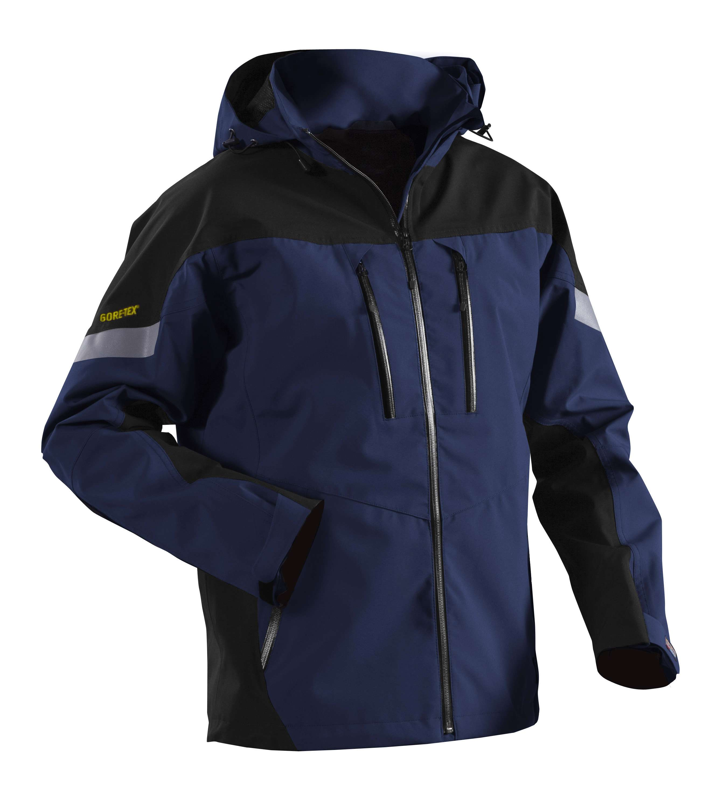 Blaklader Regenjacks 48181420 Gore-Tex marineblauw-zwart(8999)