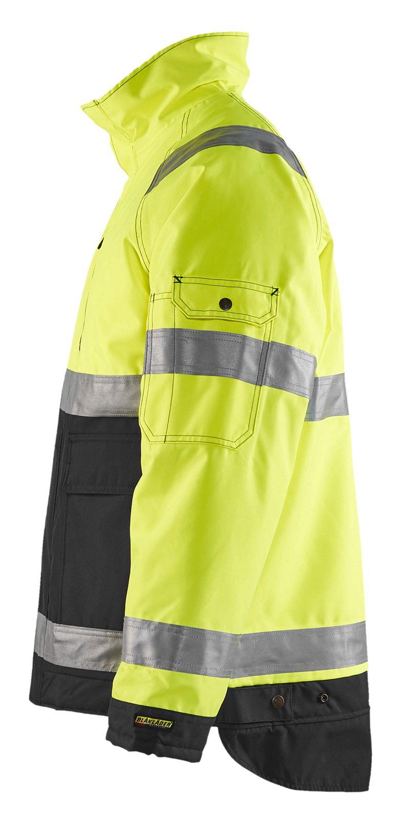 Blaklader Jassen 48271977 High Vis geel-zwart(3399)