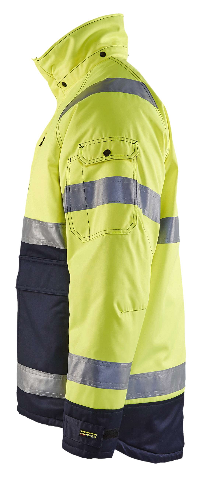Blaklader Jassen 48281900 High Vis geel-marineblauw(3389)