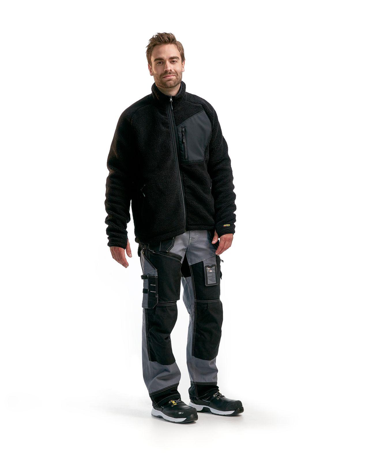 Blaklader Fleece vesten 48292505 zwart(9900)