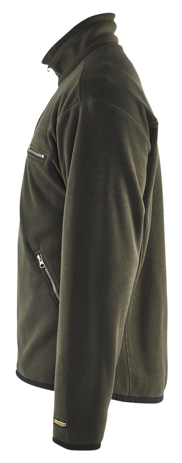 Blaklader Fleece vesten 48302510 groen(4400)