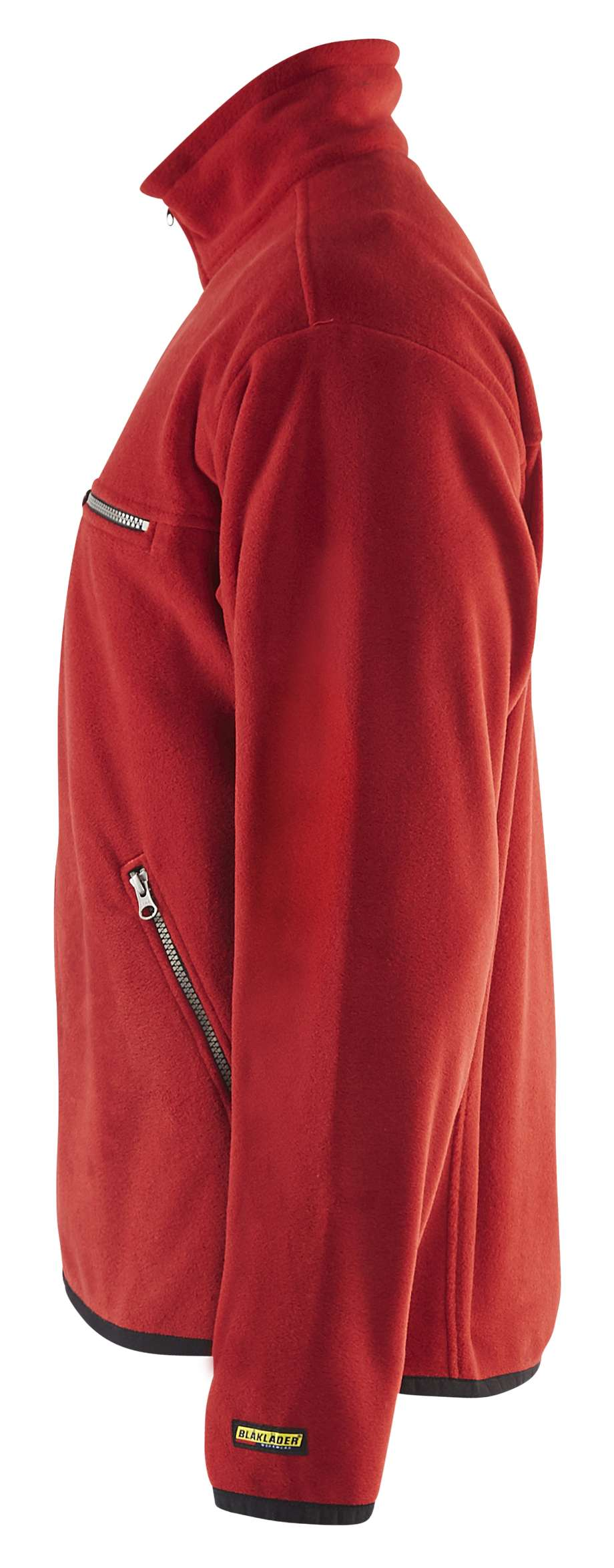 Blaklader Fleece vesten 48302510 rood(5600)