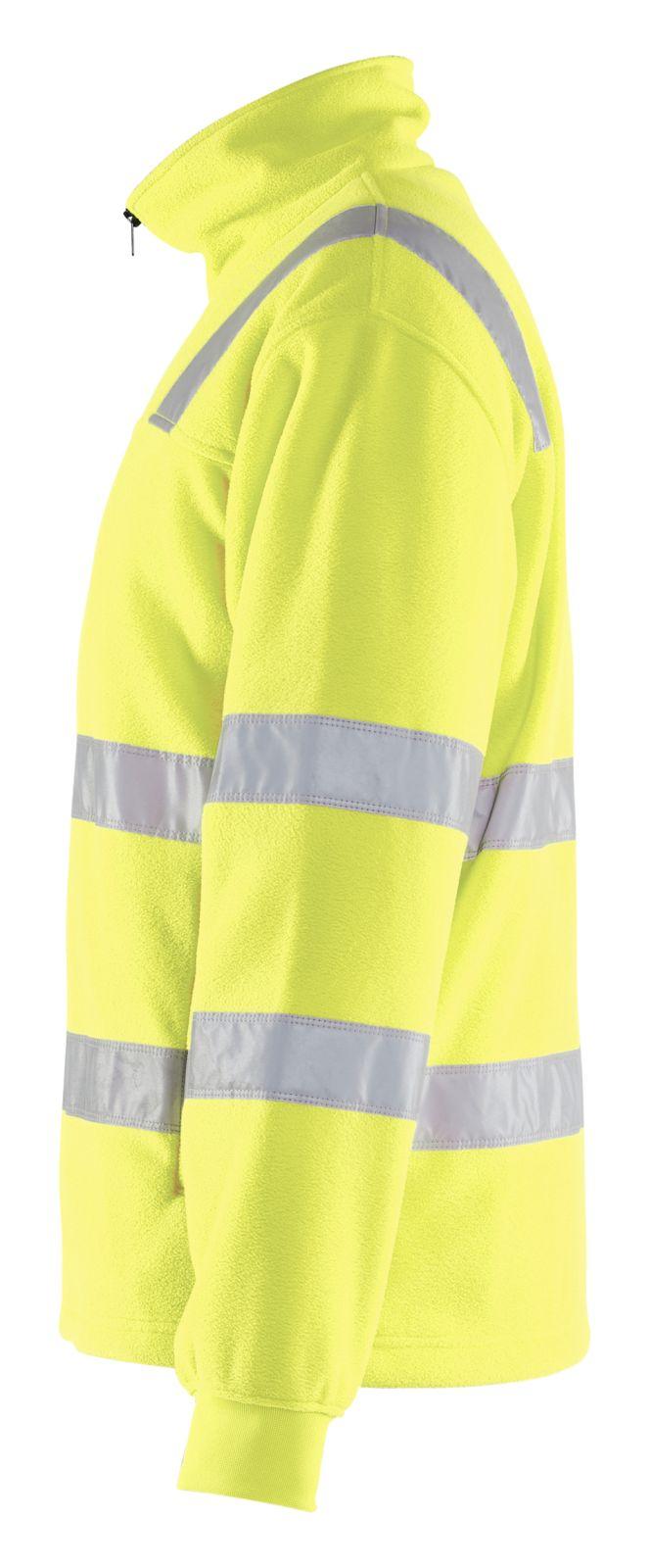 Blaklader Fleece vesten 48332560 High Vis geel(3300)