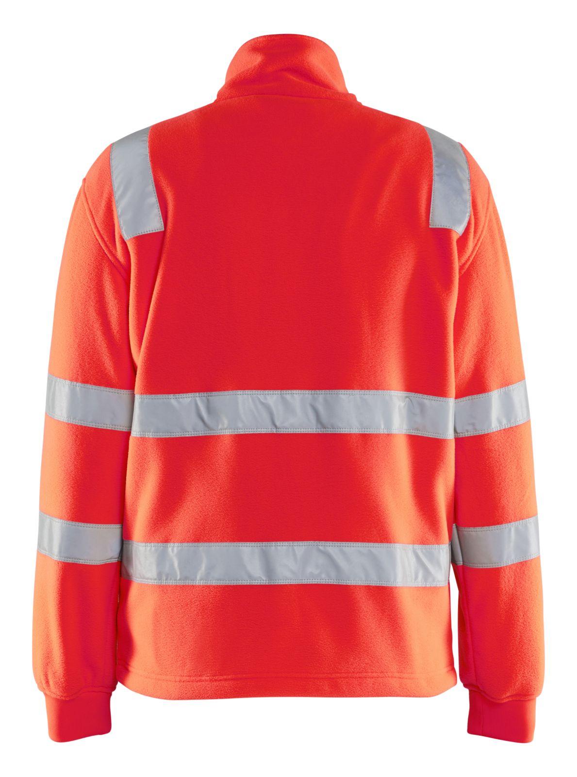 Blaklader Fleece vesten 48332560 High Vis fluor rood(5500)