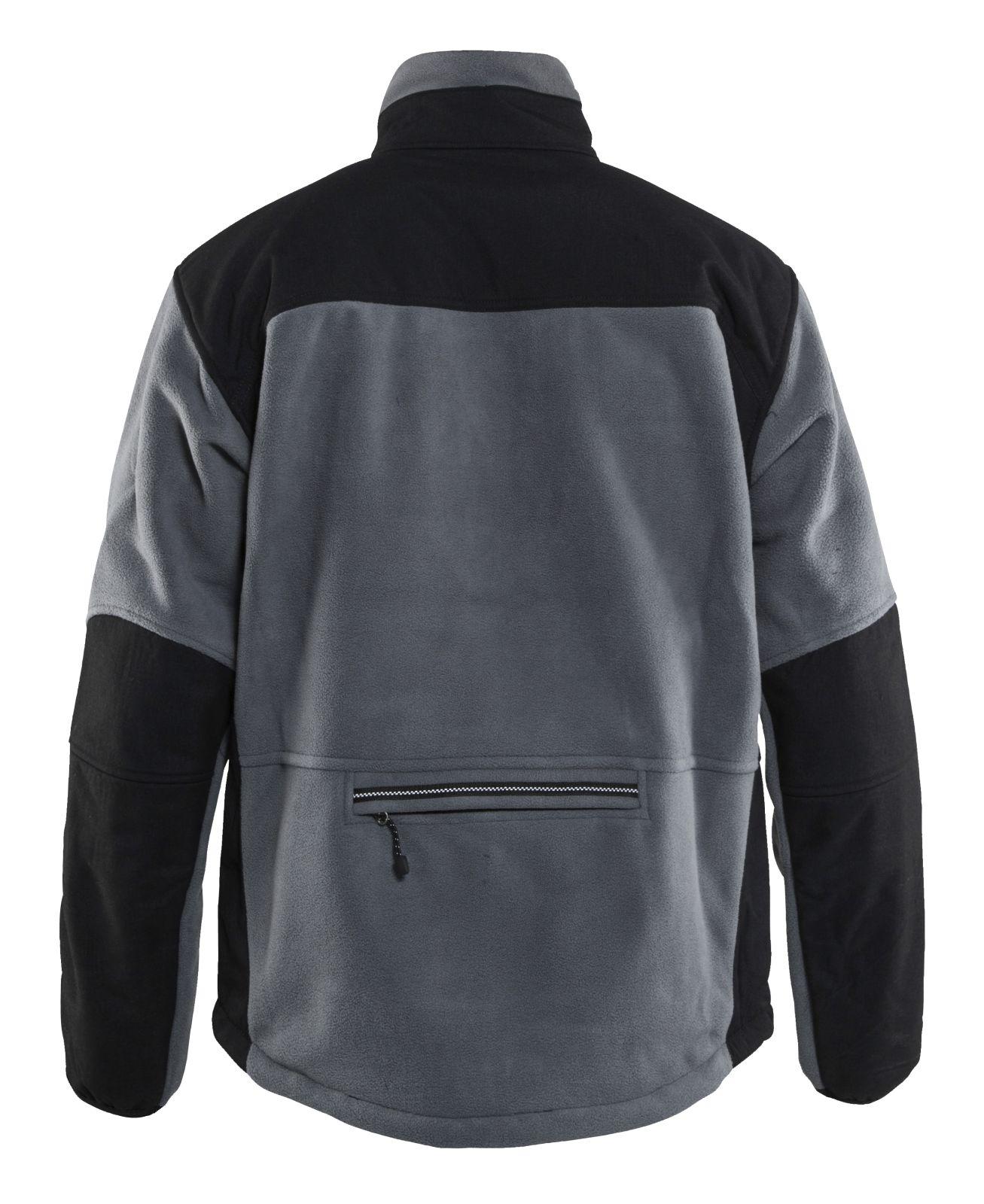 Blaklader Fleece jassen 48352520 grijs-zwart(9499)