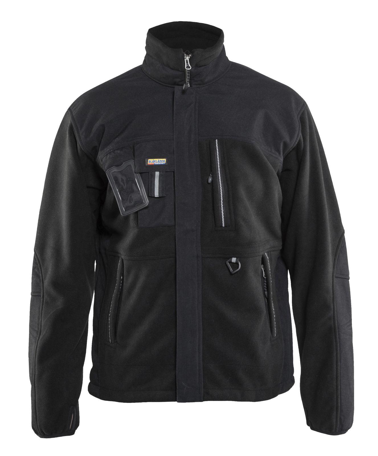 Blaklader Fleece jassen 48352520 zwart(9900)