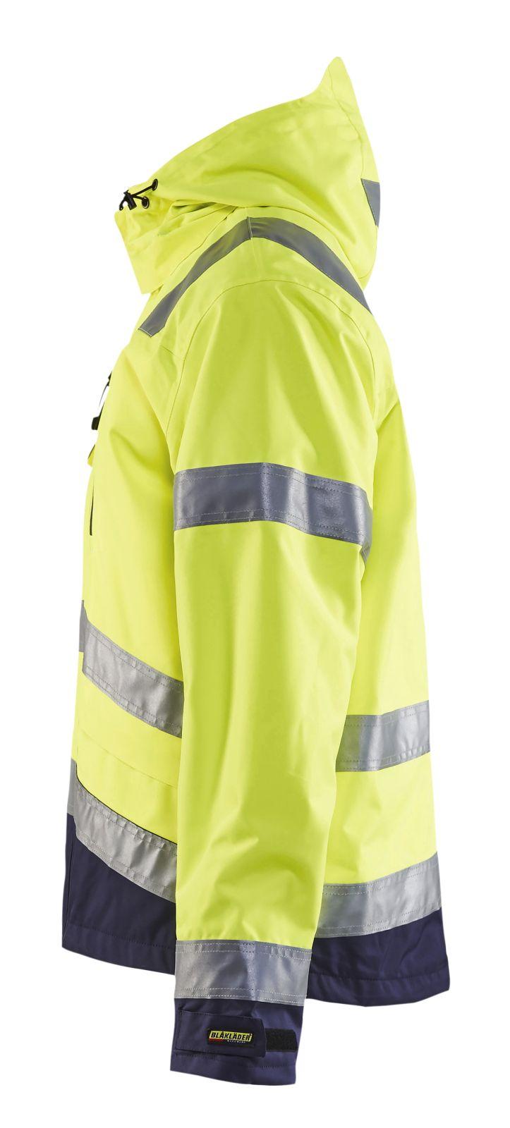 Blaklader Jassen 48371977 High Vis fluo geel-marineblauw(3389)