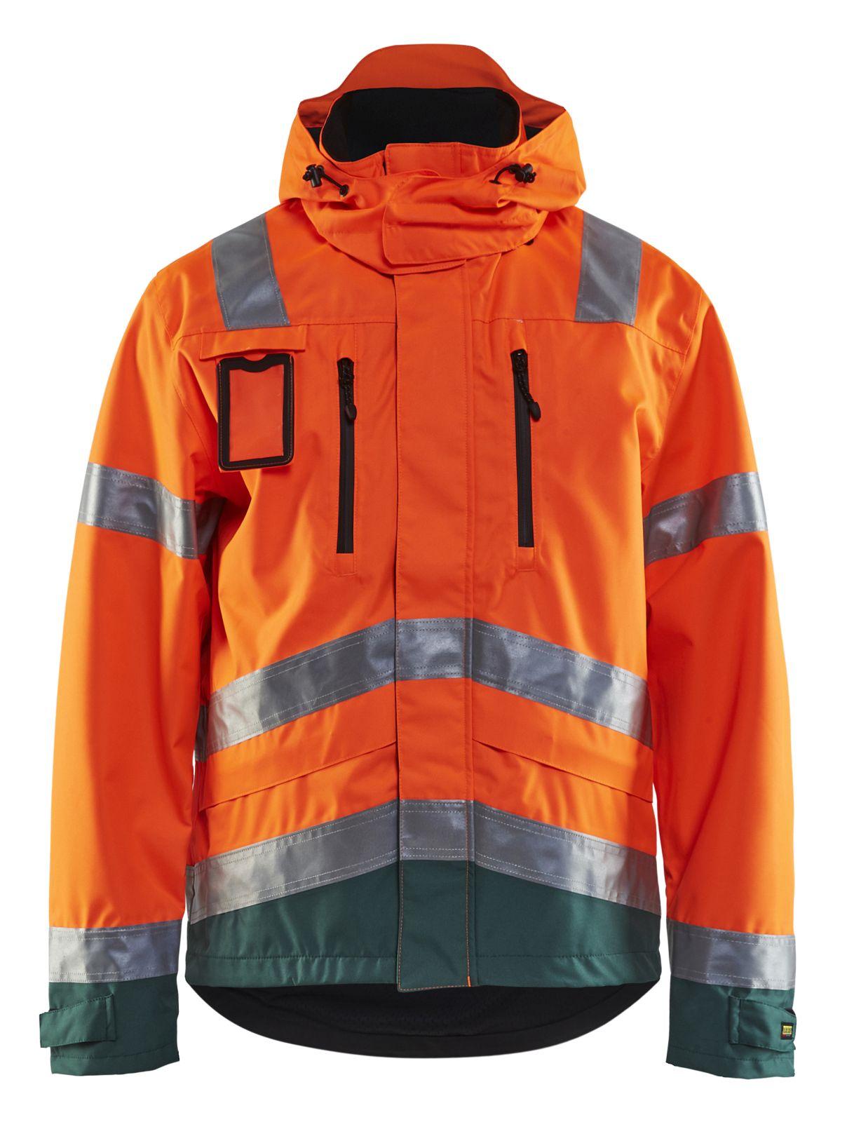 Blaklader Jassen 48371977 High Vis fluo oranje-groen(5349)