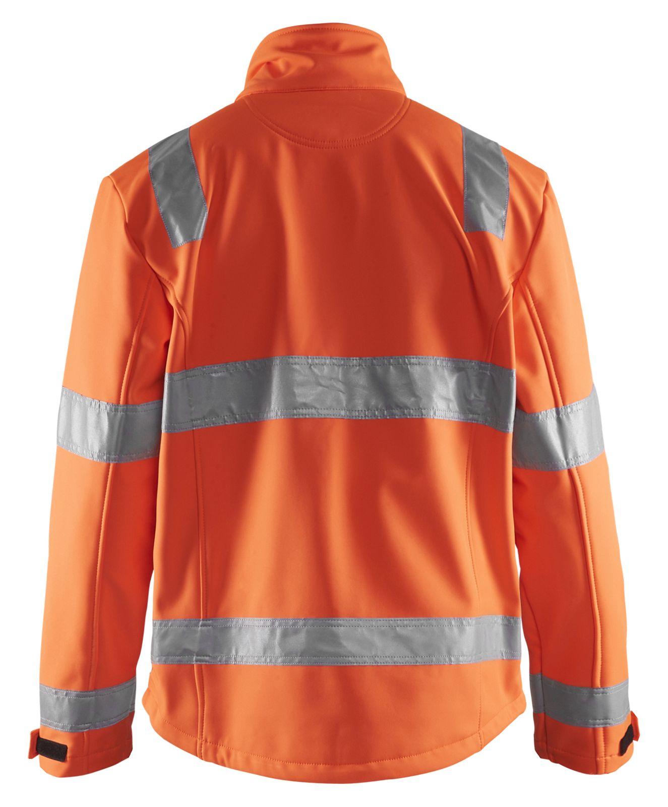 Blaklader Softshell jacks 48382535 High Vis oranje(5300)