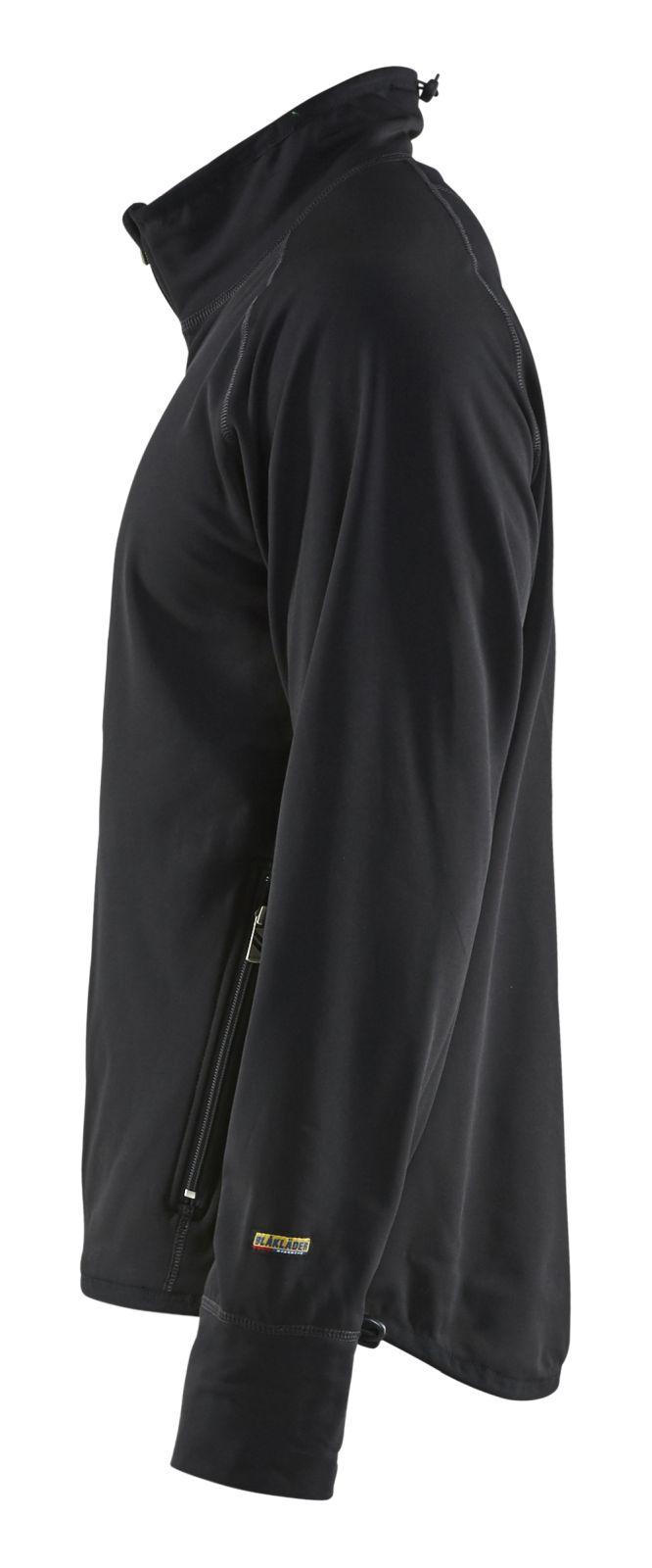 Blaklader Fleece vesten 48442522 zwart(9900)