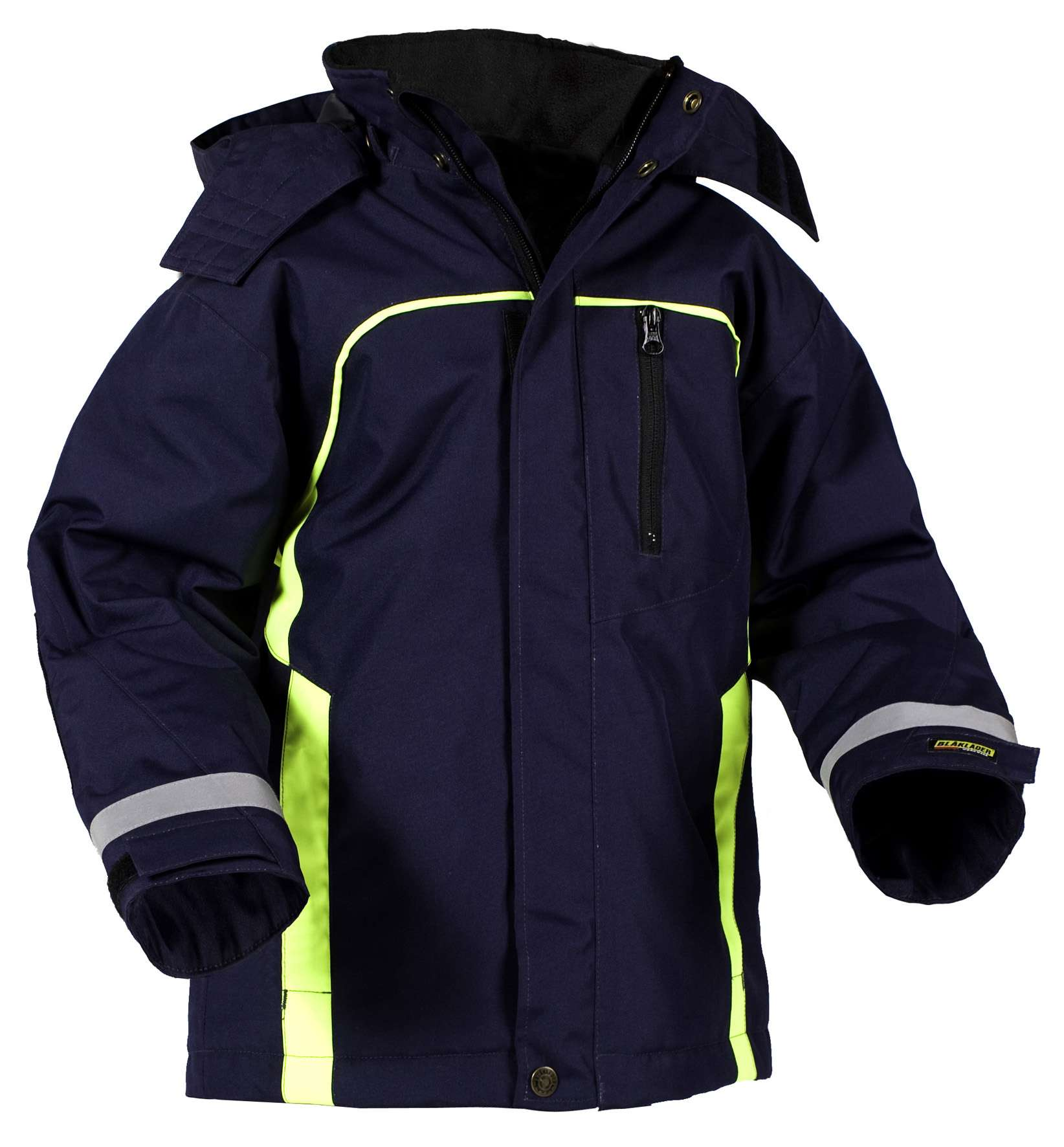 Blaklader Kinderkleding 48481977 marineblauw-geel(8933)