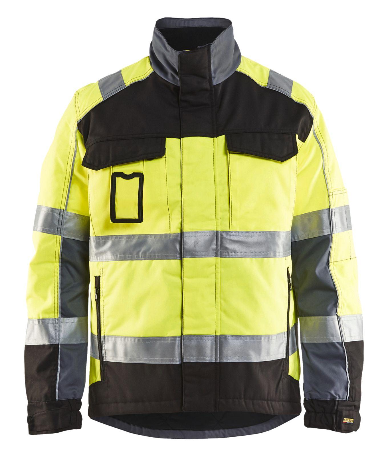 Blaklader Winterjassen 48511811 High Vis geel-zwart(3399)