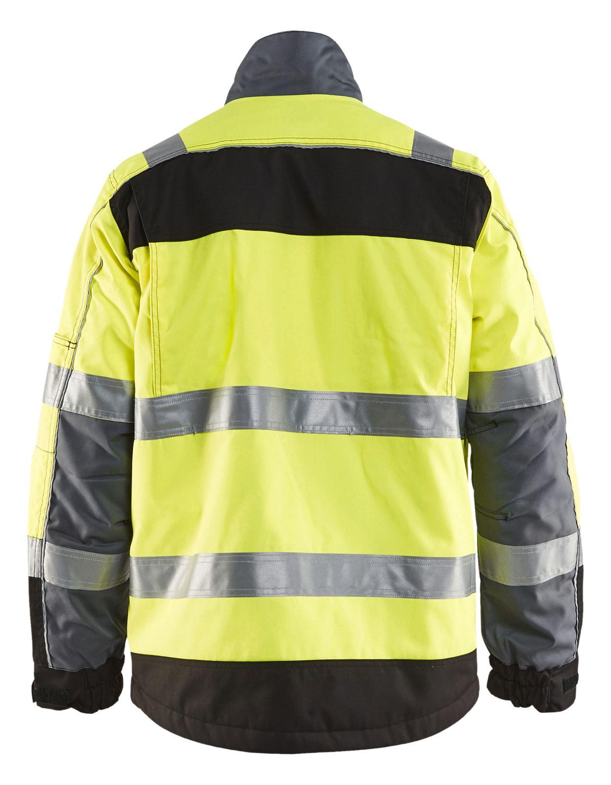 Blaklader Jassen 48511811 High Vis geel-zwart(3399)