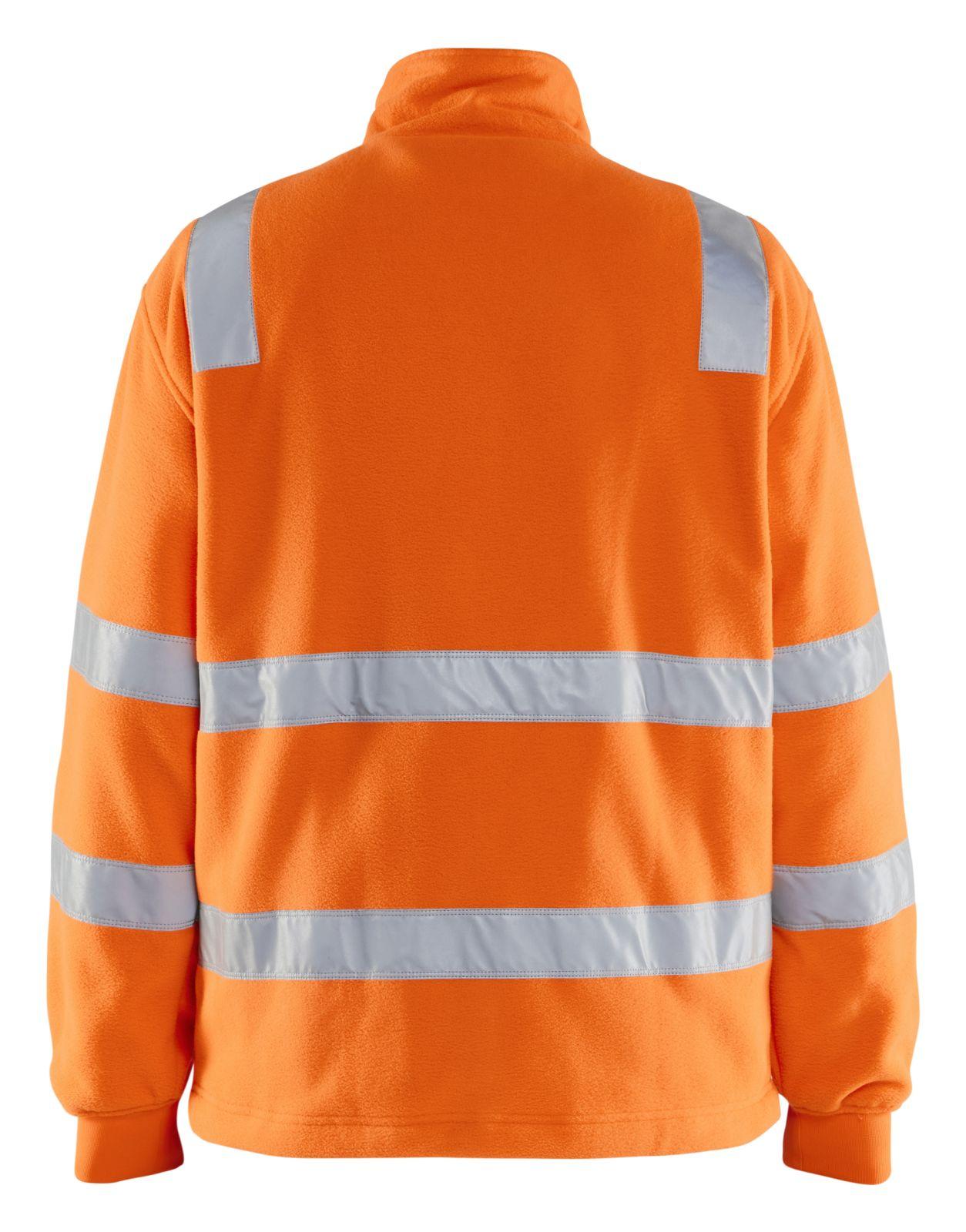 Blaklader Fleece vesten 48532560 High Vis oranje(5300)
